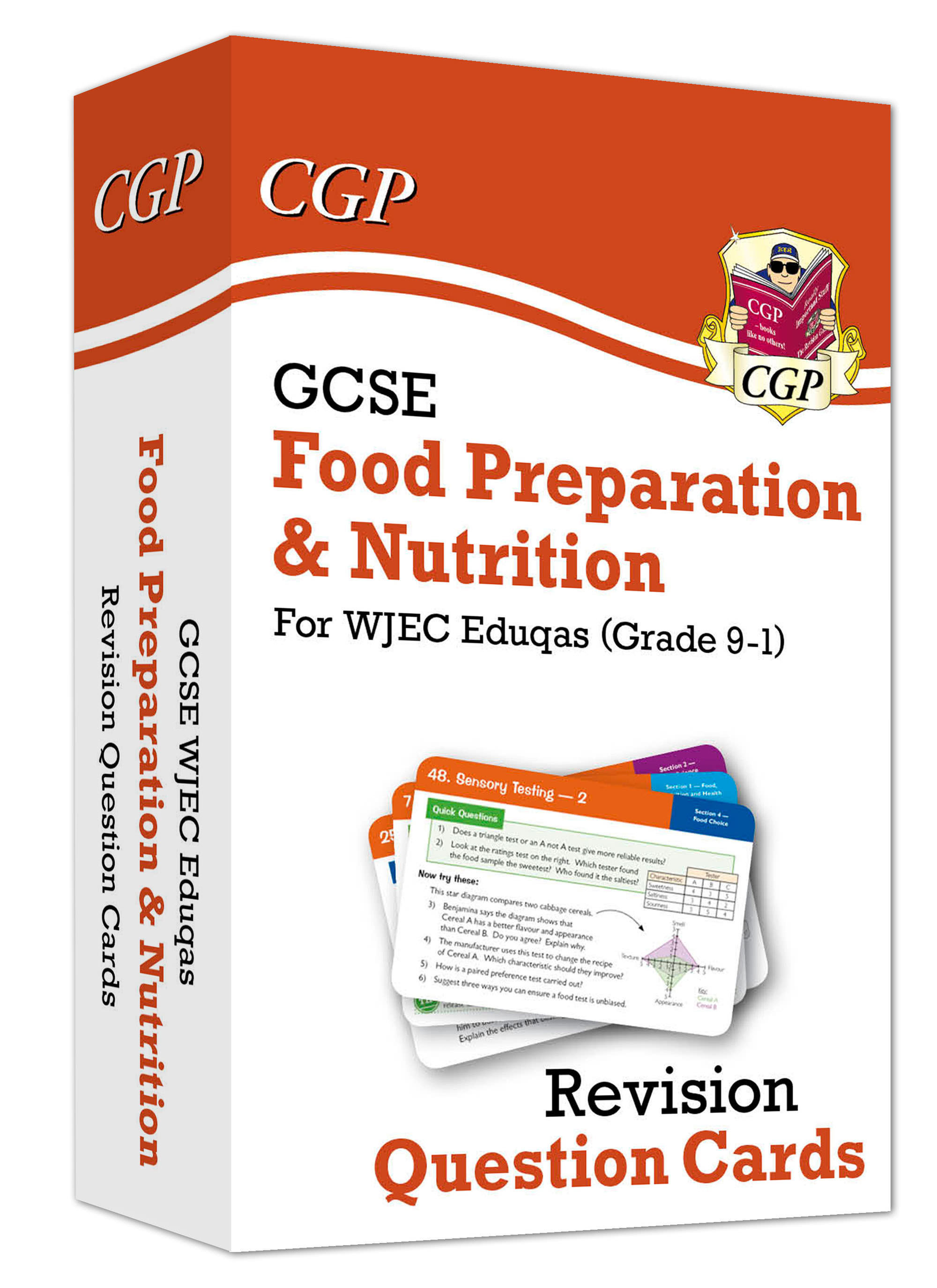 FNWF41 - New Grade 9-1 GCSE Food Preparation & Nutrition WJEC Eduqas Revision Question Cards