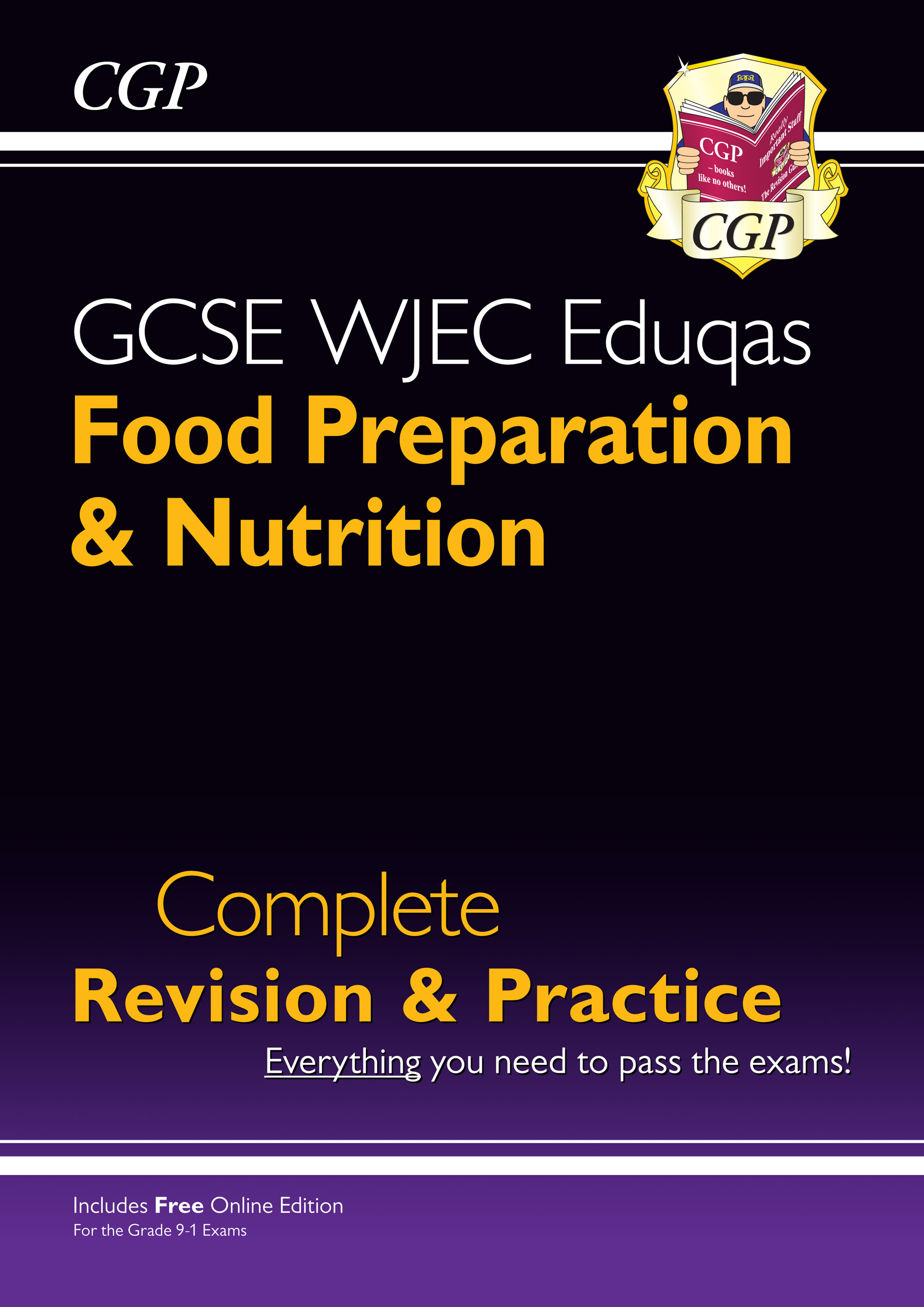 FNWS41 - New 9-1 GCSE Food Preparation & Nutrition WJEC Eduqas Complete Revision & Practice (with On