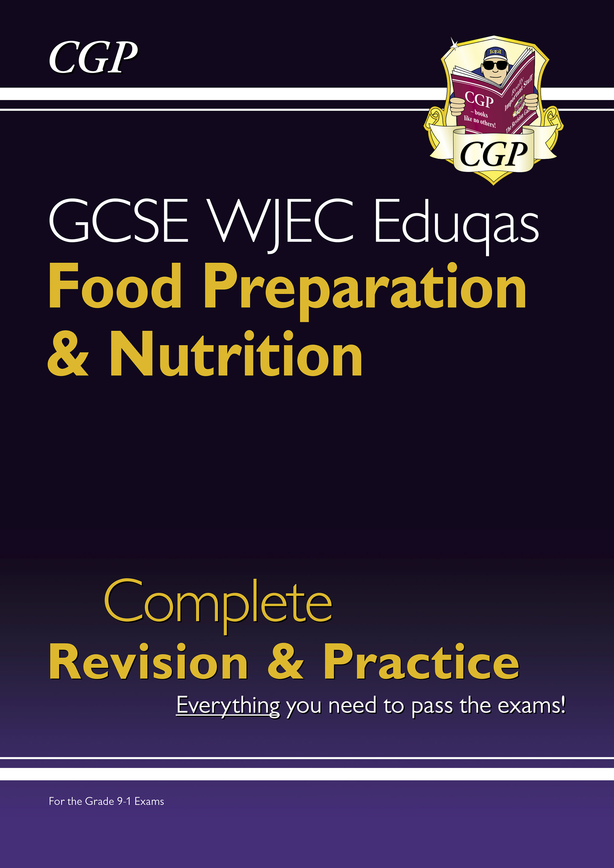 FNWS41DK - New 9-1 GCSE Food Preparation & Nutrition WJEC Eduqas Complete Revision & Practice