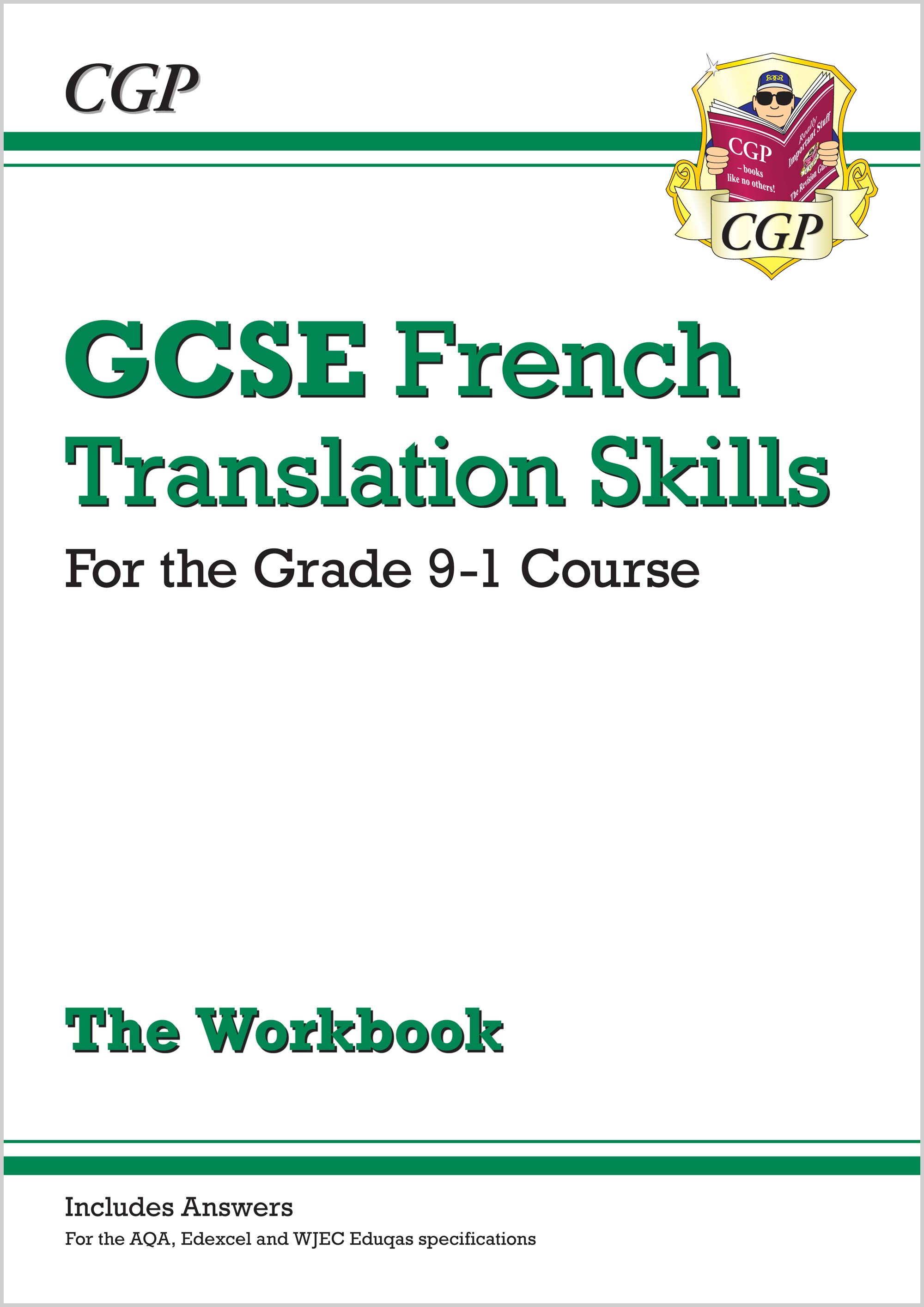 FTW41 - New Grade 9-1 GCSE French Translation Skills Workbook (includes Answers)