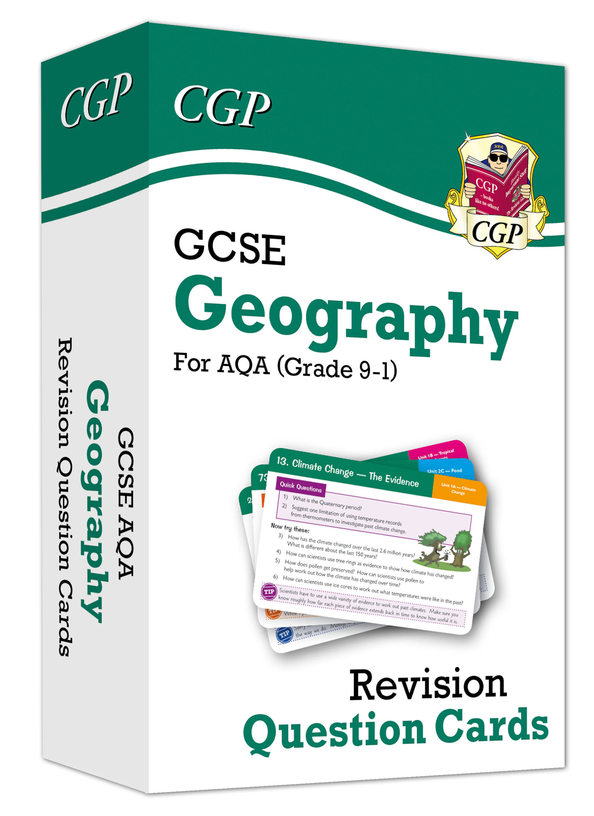 GAF41DK - New Grade 9-1 GCSE Geography AQA Revision Question Cards