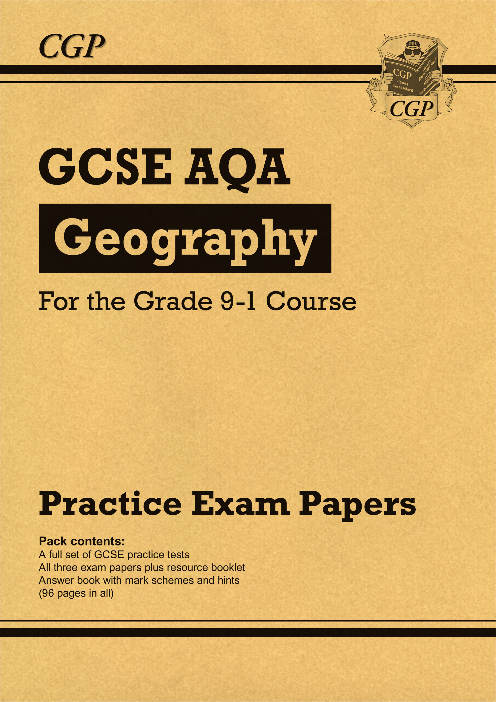 GAP41 - GCSE Geography AQA Practice Papers - for the Grade 9-1 Course