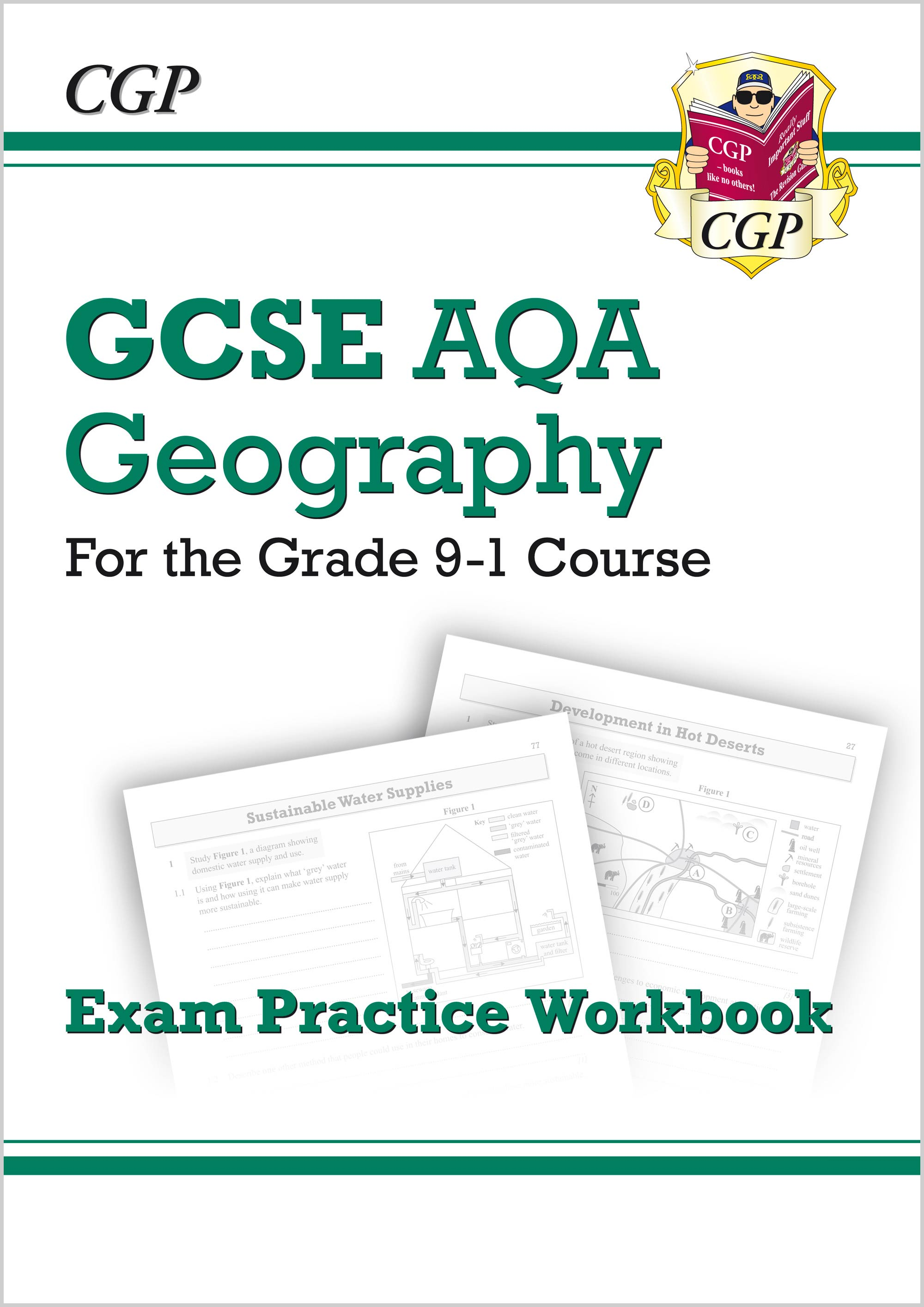GAQ42 - New Grade 9-1 GCSE Geography AQA Exam Practice Workbook