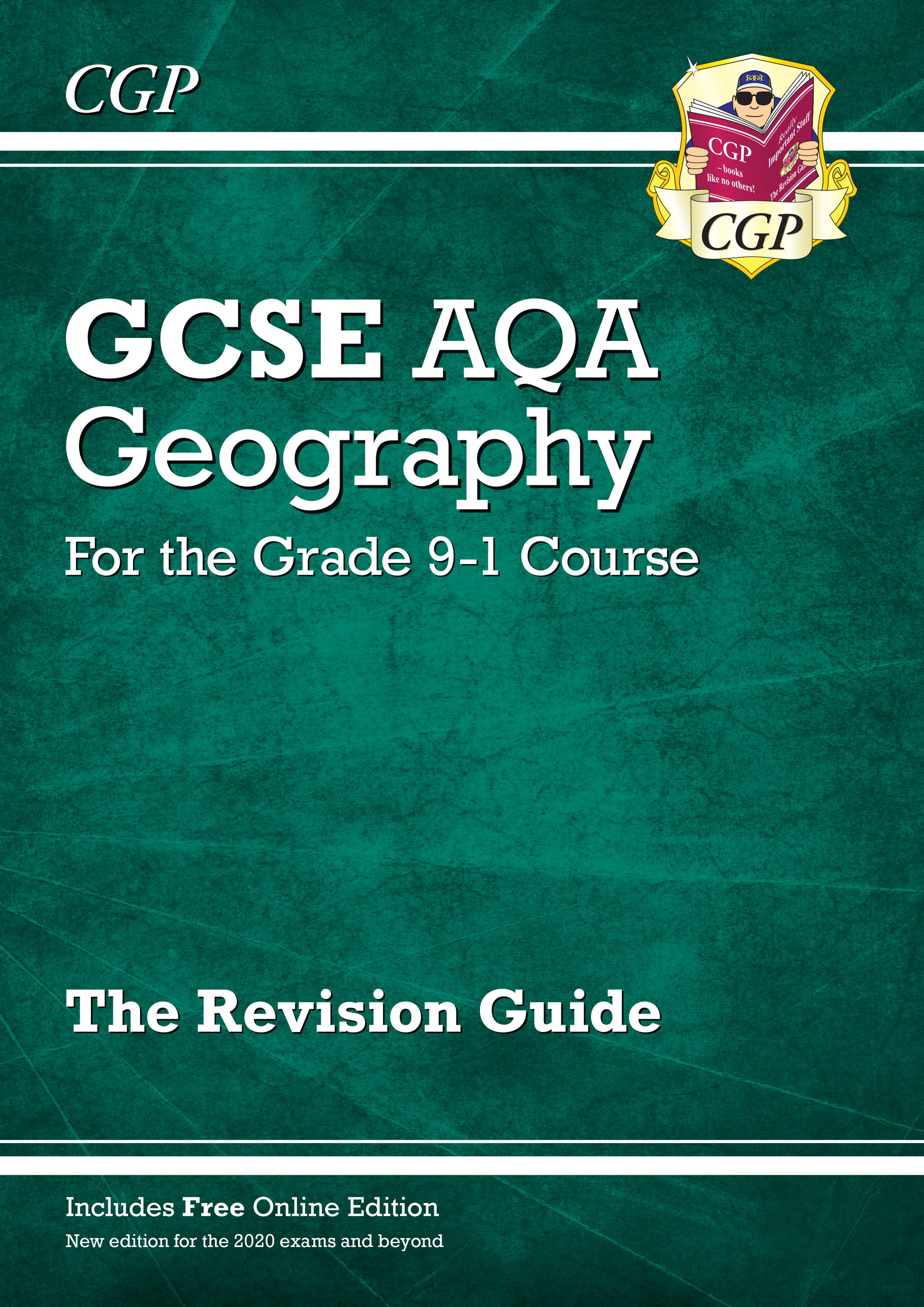 GAR45 - GCSE 9-1 Geography AQA Revision Guide (with Online Ed) - Edition for 2021 exams & beyond