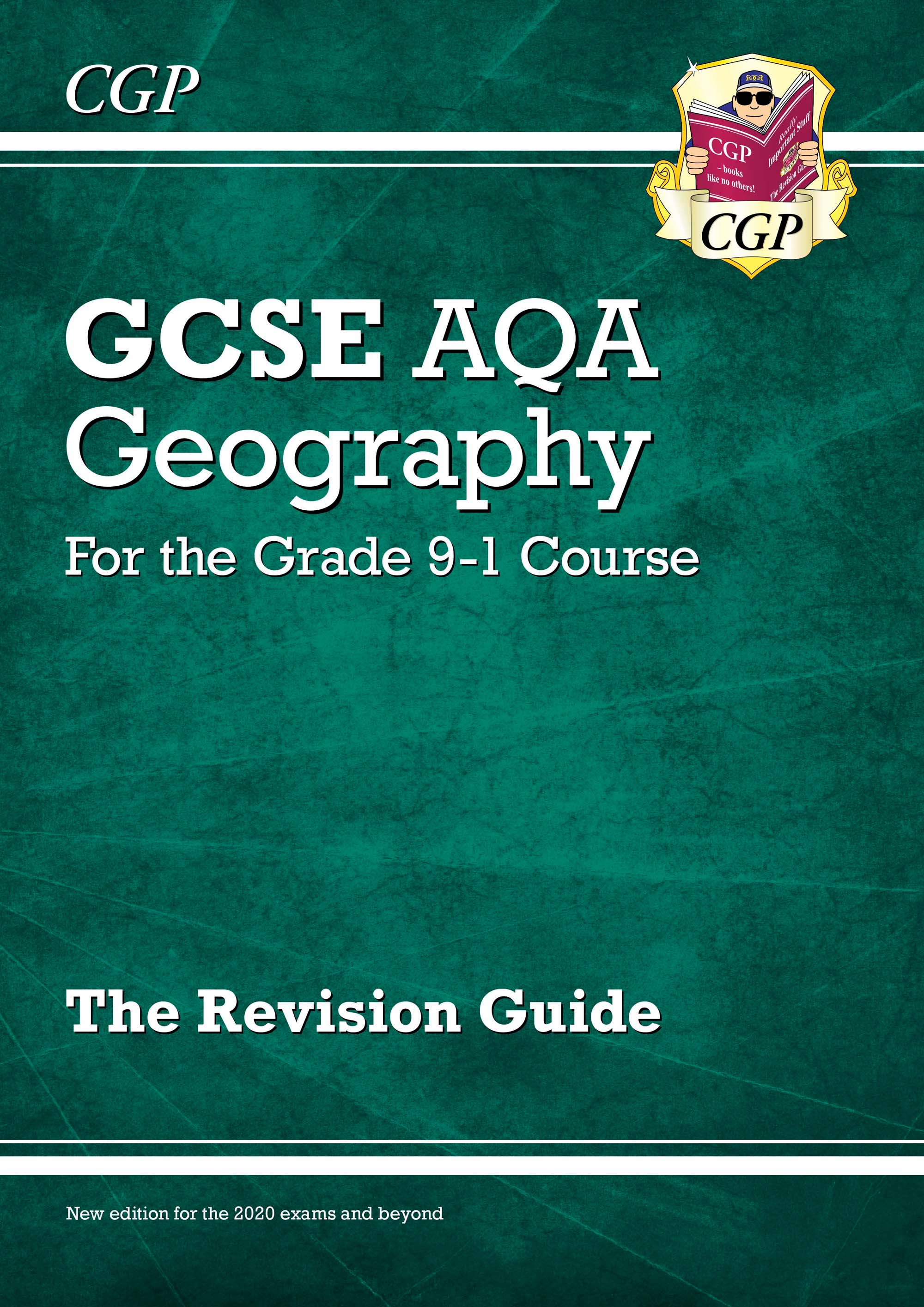GAR45DK - New GCSE 9-1 Geography AQA Revision Guide (with Online Ed) - New Edition for 2021 exams &