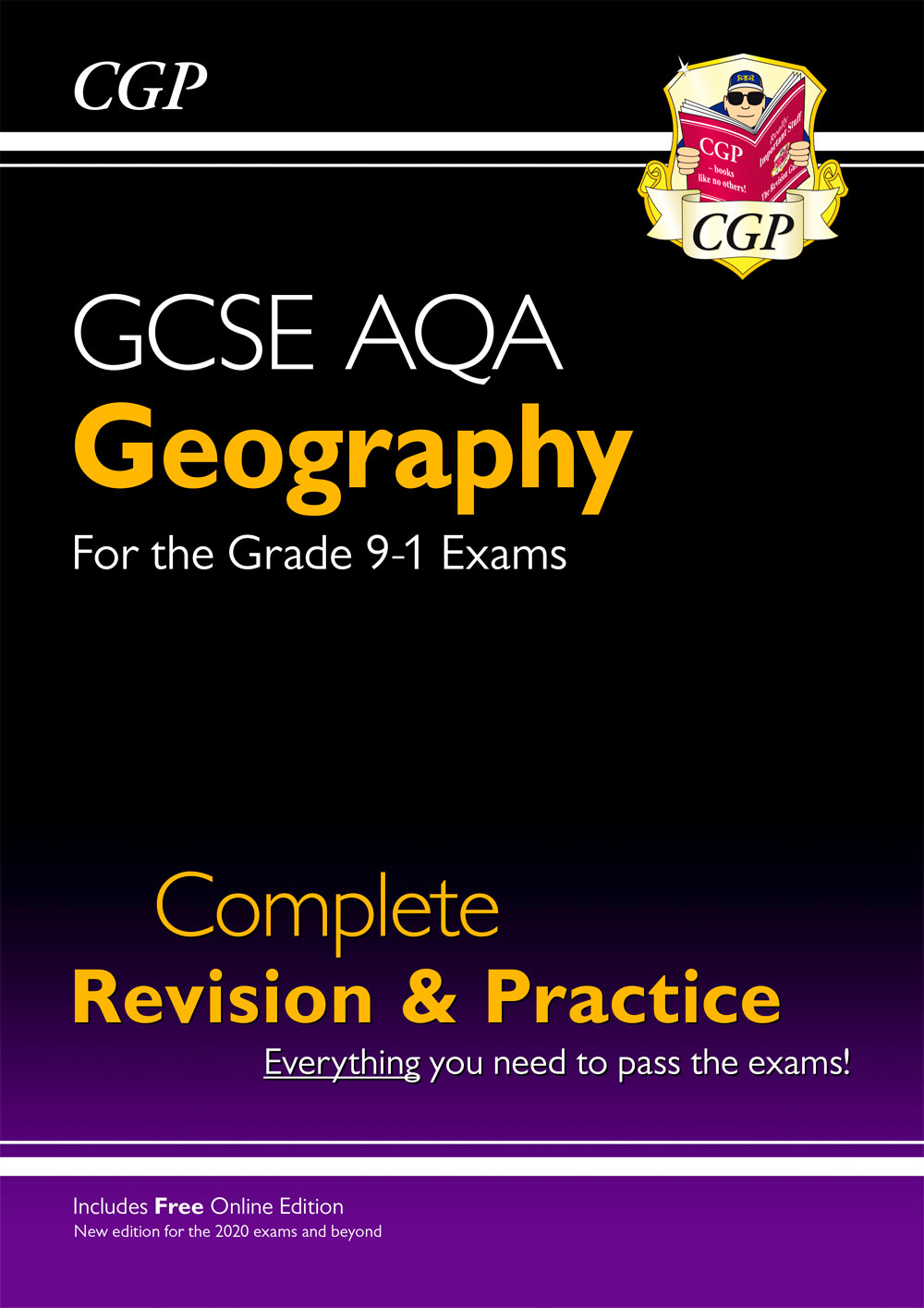 GAS42 - New GCSE 9-1 Geography AQA Complete Revision & Practice (w/ Online Ed) - New for 2021 exams