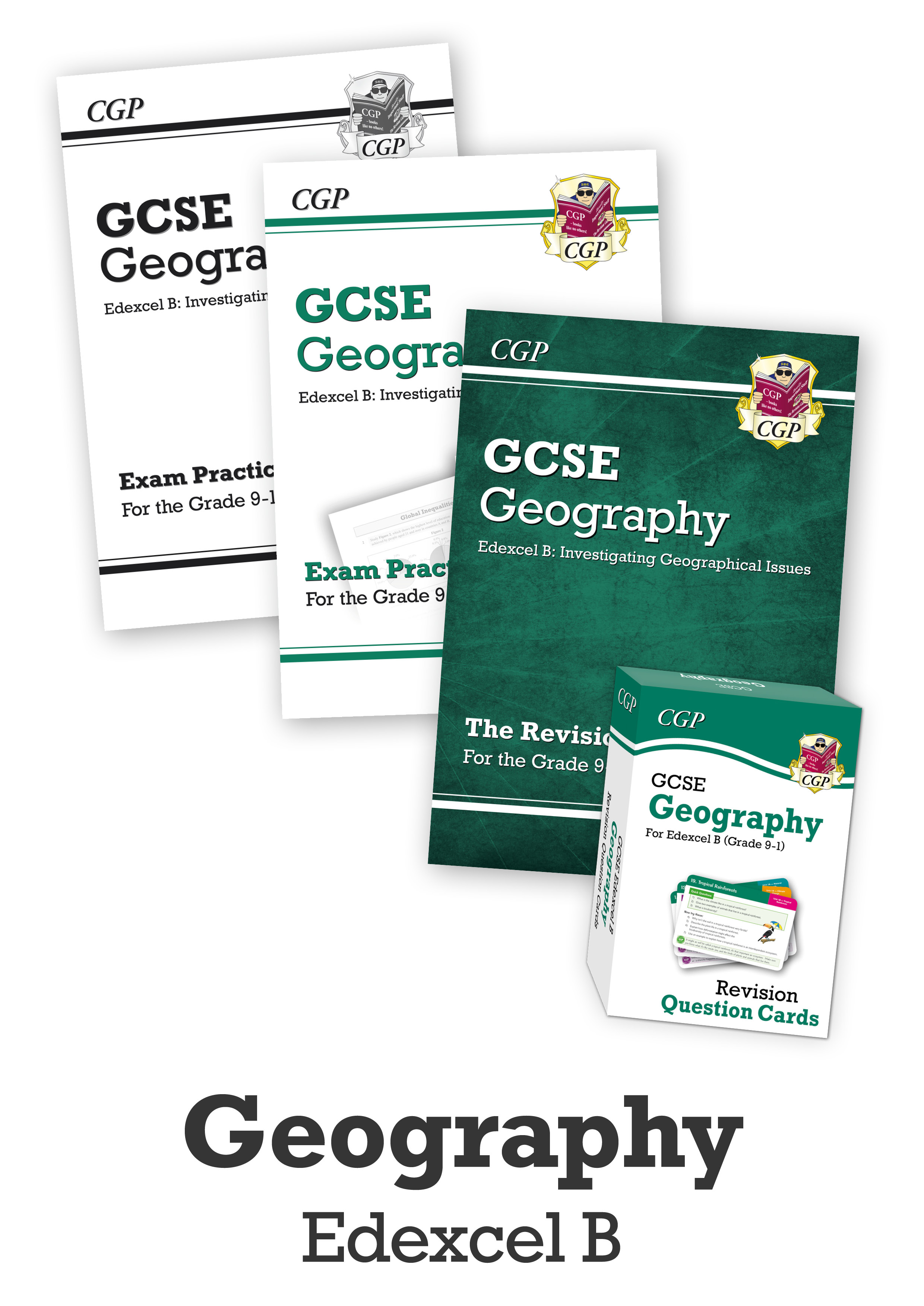 GECUB41 - GCSE Essentials Bundle: Edexcel B Geography