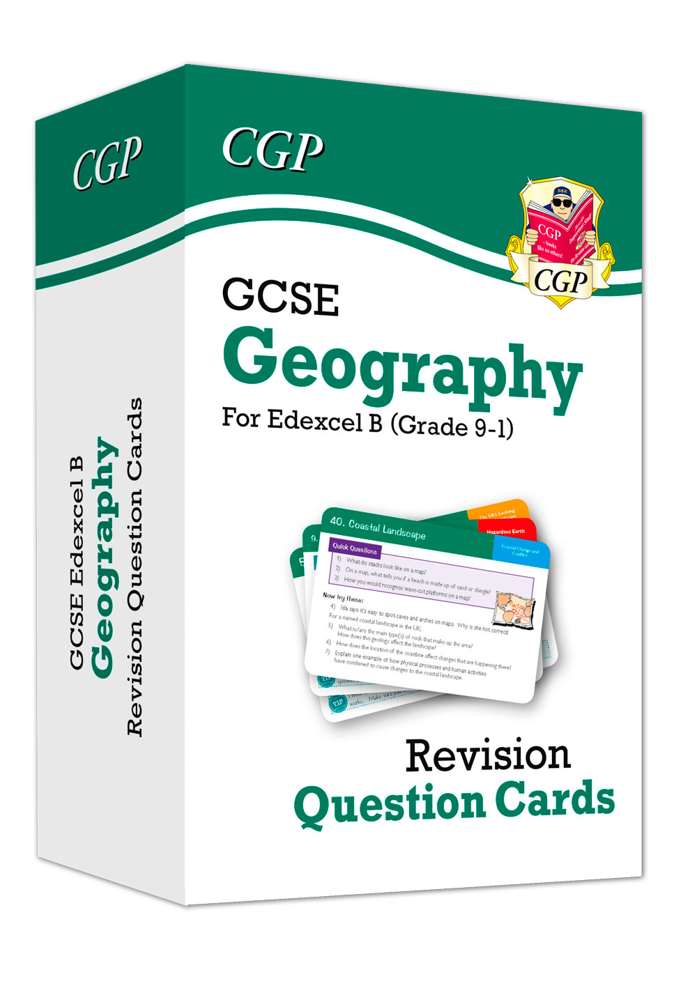 GEF41 - New Grade 9-1 GCSE Geography Edexcel B Revision Question Cards