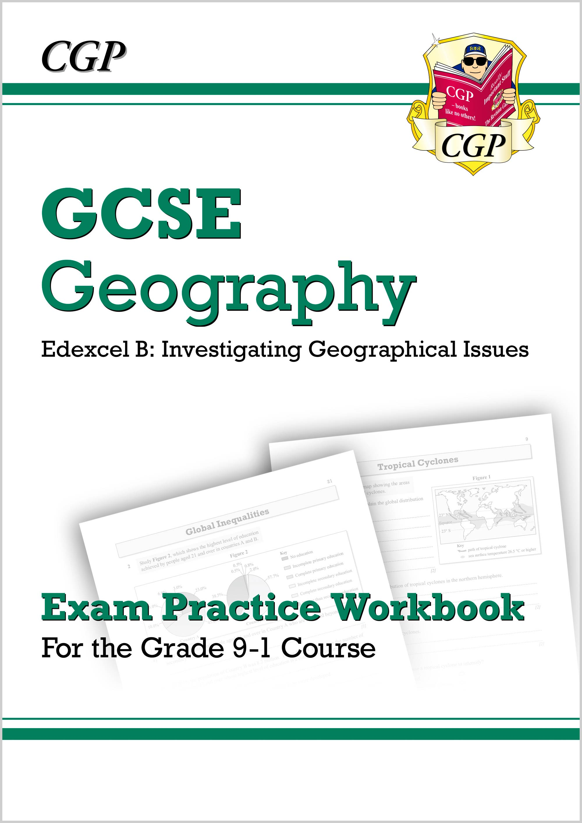 GEQ42DK - New Grade 9-1 GCSE Geography Edexcel B: Investigating Geographical Issues - Exam Practice