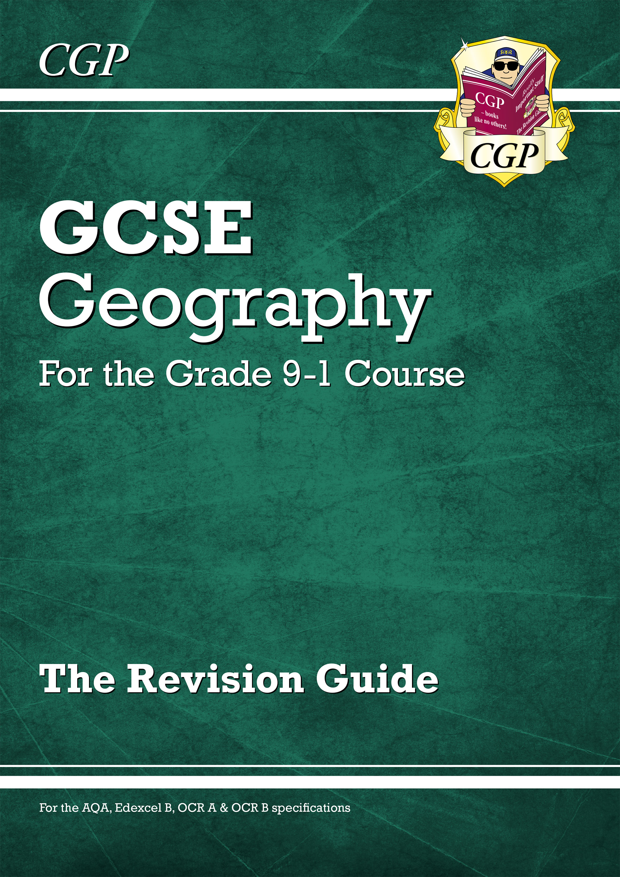 GHR44DK - New Grade 9-1 GCSE Geography Revision Guide