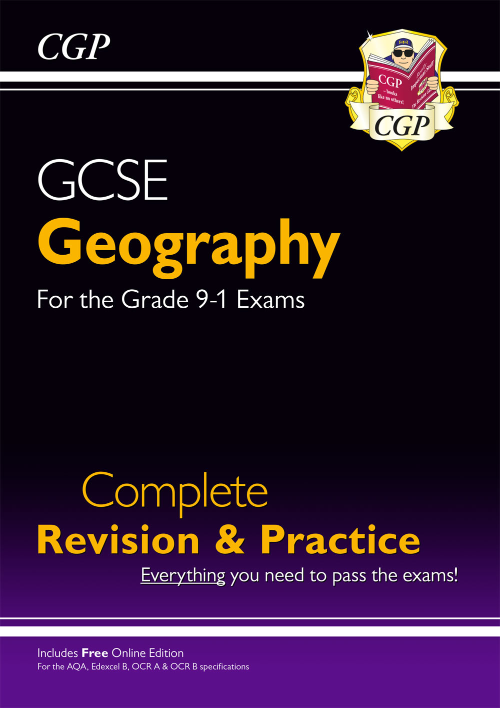 GHS44 - Grade 9-1 GCSE Geography Complete Revision & Practice (with Online Edition)