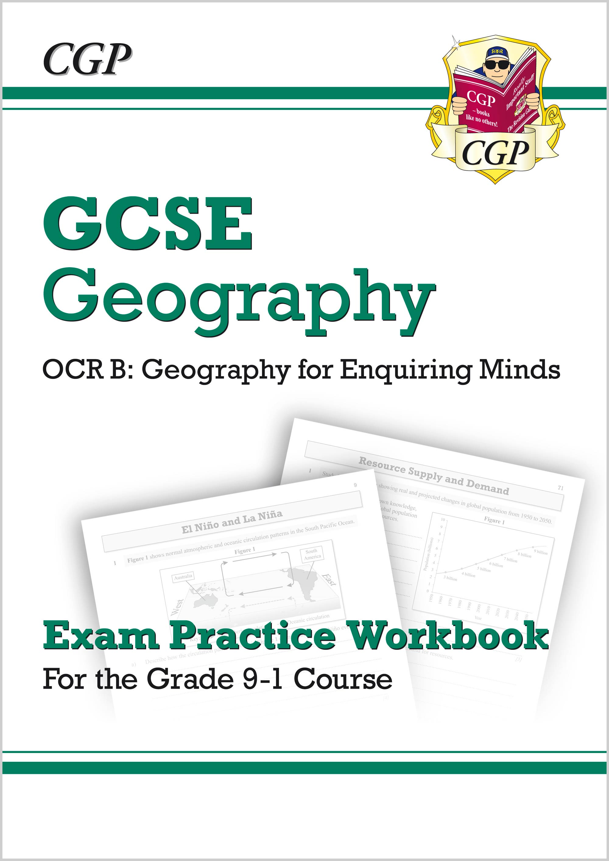 GRQ42 - Grade 9-1 GCSE Geography OCR B: Geography for Enquiring Minds - Exam Practice Workbook