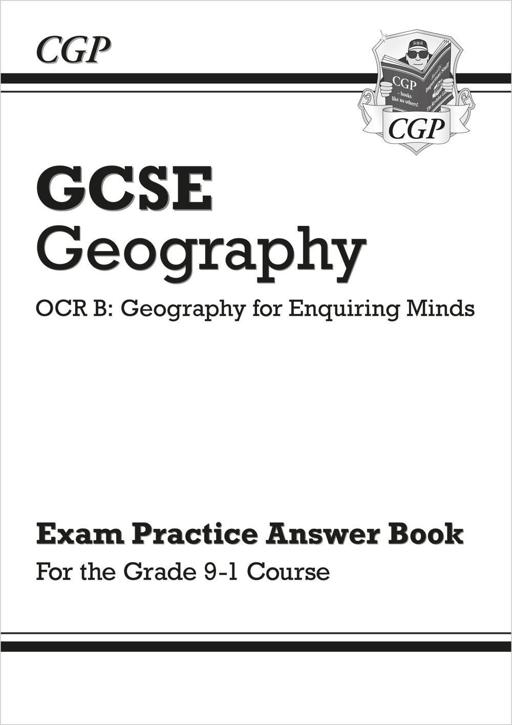 GRQA41 - Grade 9-1 GCSE Geography OCR B: Geography for Enquiring Minds - Answers (for Workbook)