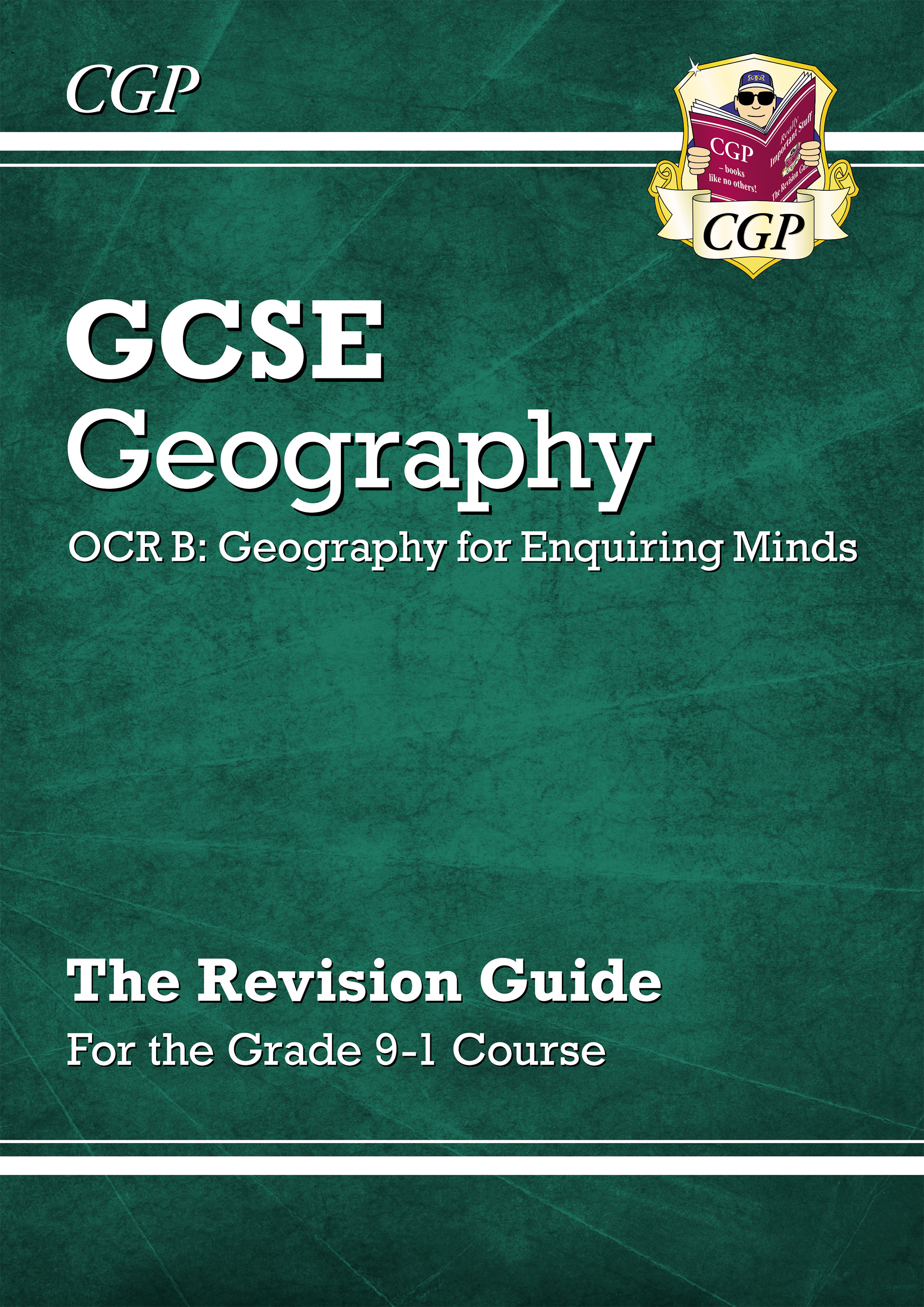 GRR44DK - New Grade 9-1 GCSE Geography OCR B: Geography for Enquiring Minds - Revision Guide