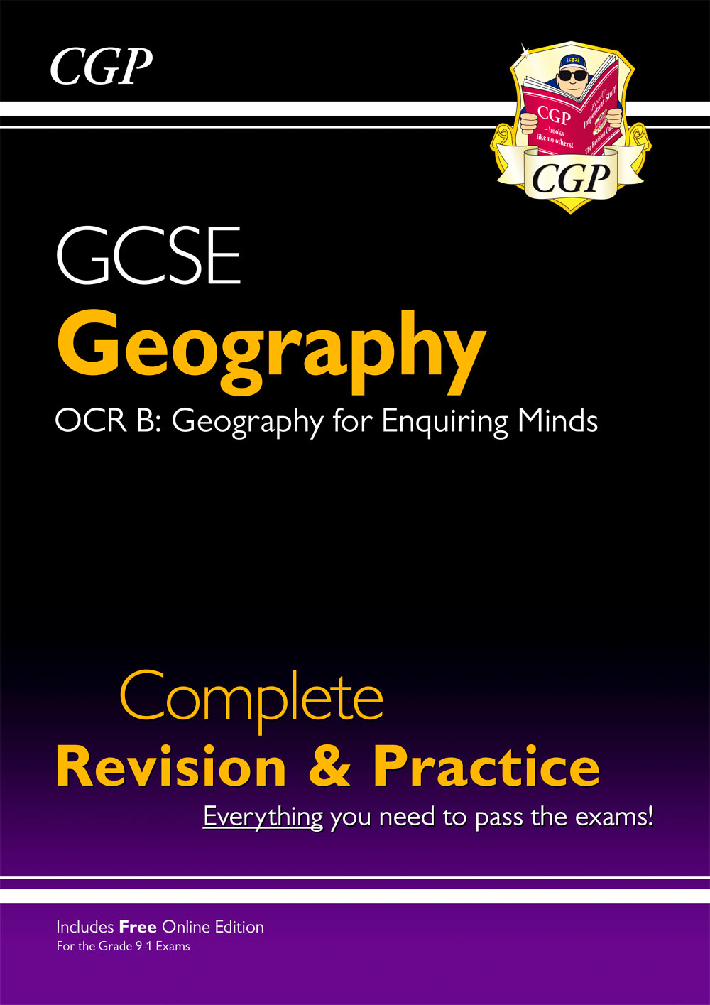 GRS41 - New Grade 9-1 GCSE Geography OCR B Complete Revision & Practice (with Online Edition)
