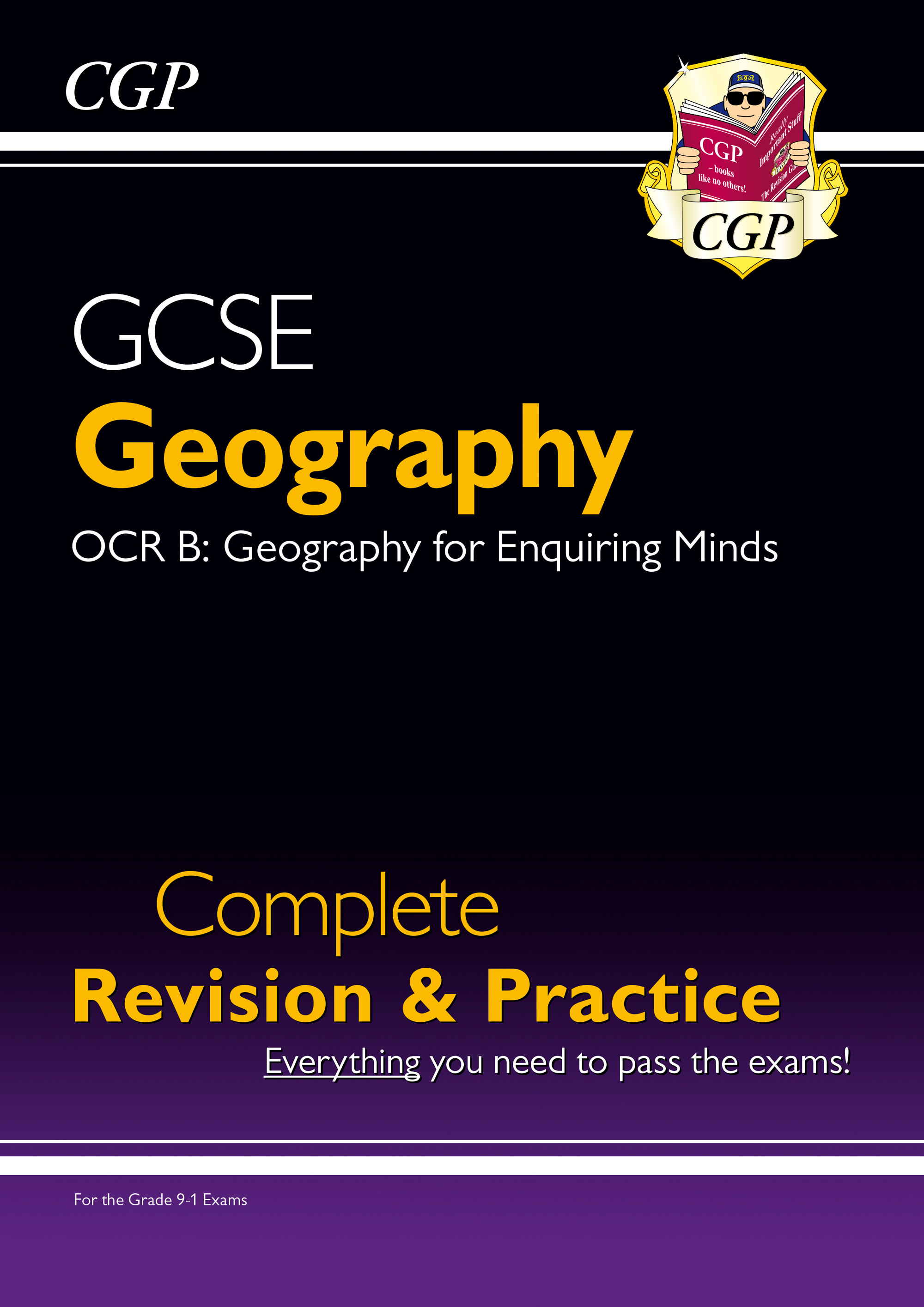 GRS41DK - New Grade 9-1 GCSE Geography OCR B Complete Revision & Practice