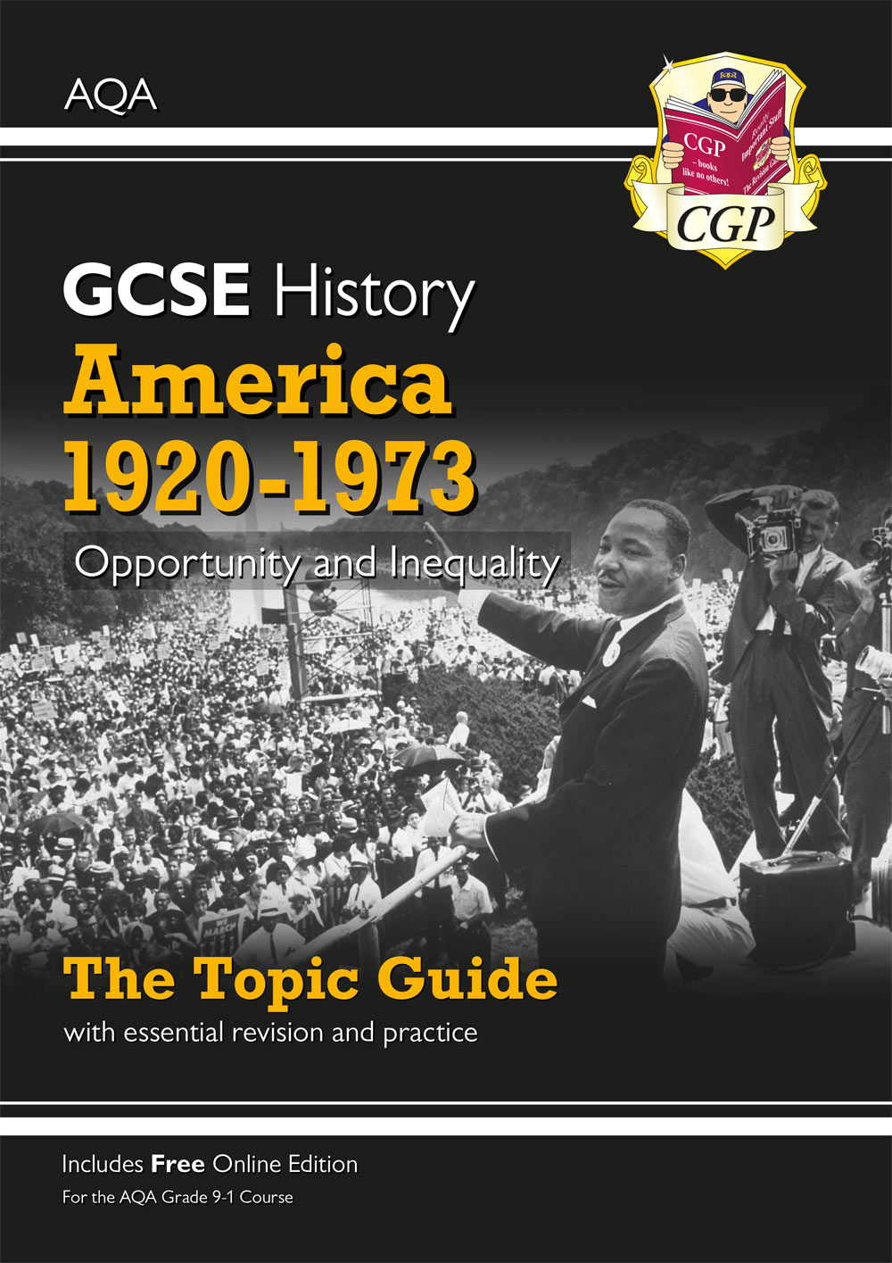 HAAOO41 - New Grade 9-1 GCSE History AQA Topic Guide - America, 1920-1973: Opportunity and Inequalit