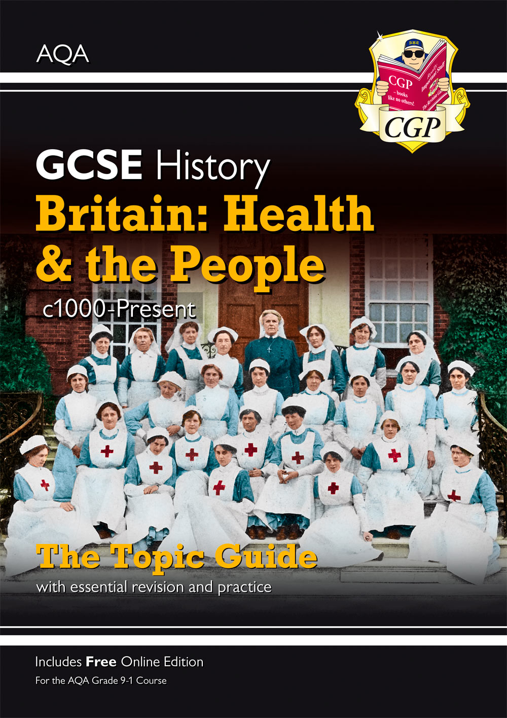 HAHPO41 - New Grade 9-1 GCSE History AQA Topic Guide - Britain: Health and the People: c1000-Present