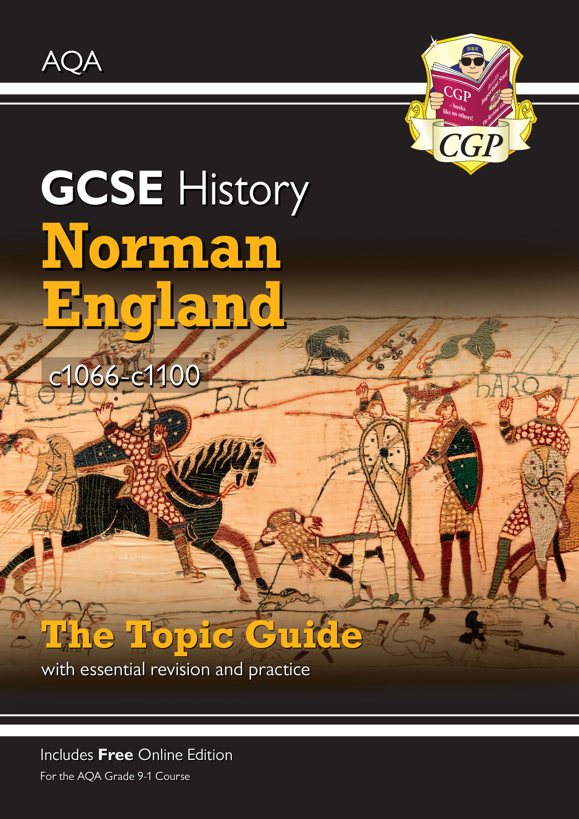HANEO41 - New Grade 9-1 GCSE History AQA Topic Guide - Norman England, c1066-c1100