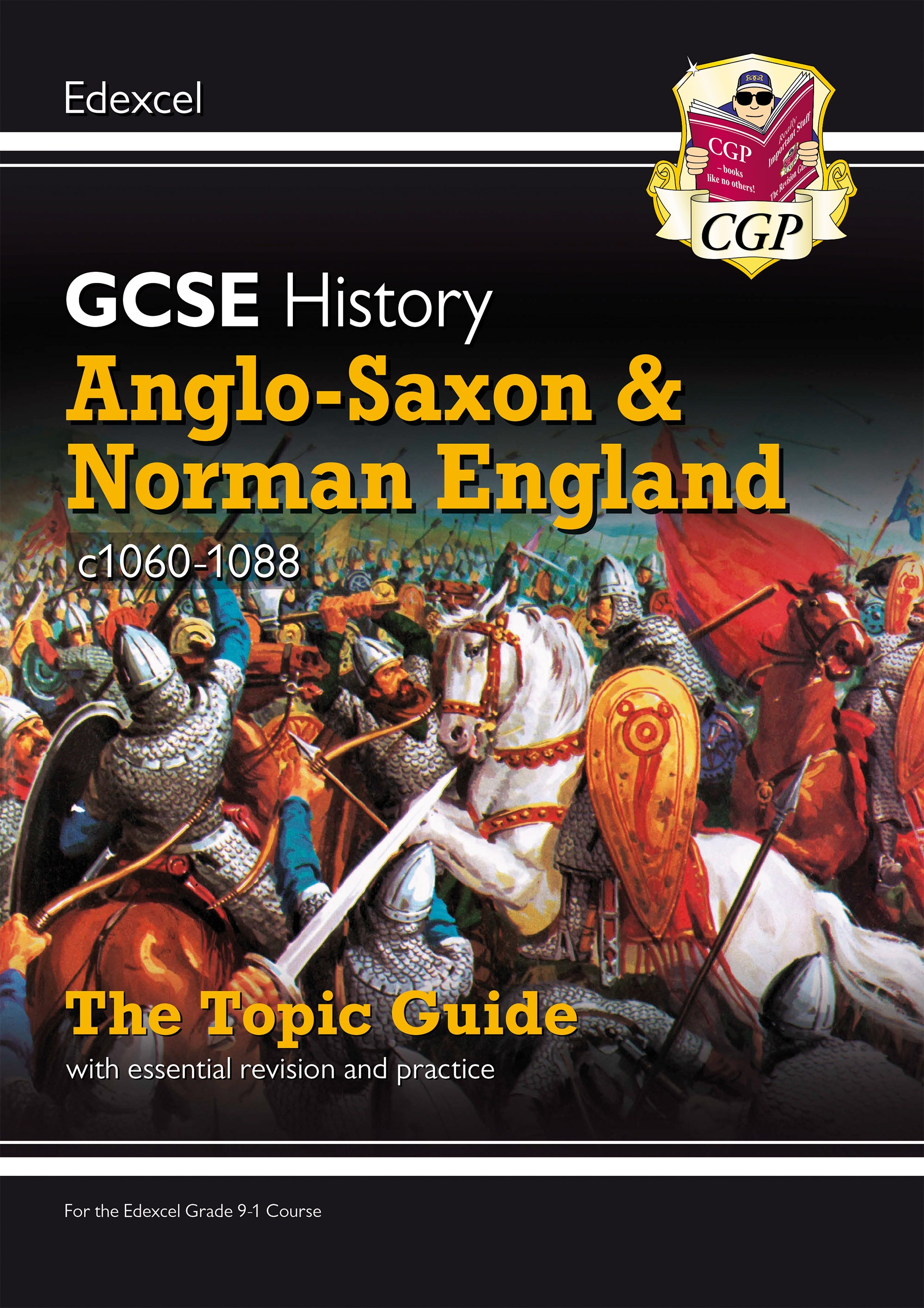 HEANO41DK - New Grade 9-1 GCSE History Edexcel Topic Guide - Anglo-Saxon and Norman England, c1060-8