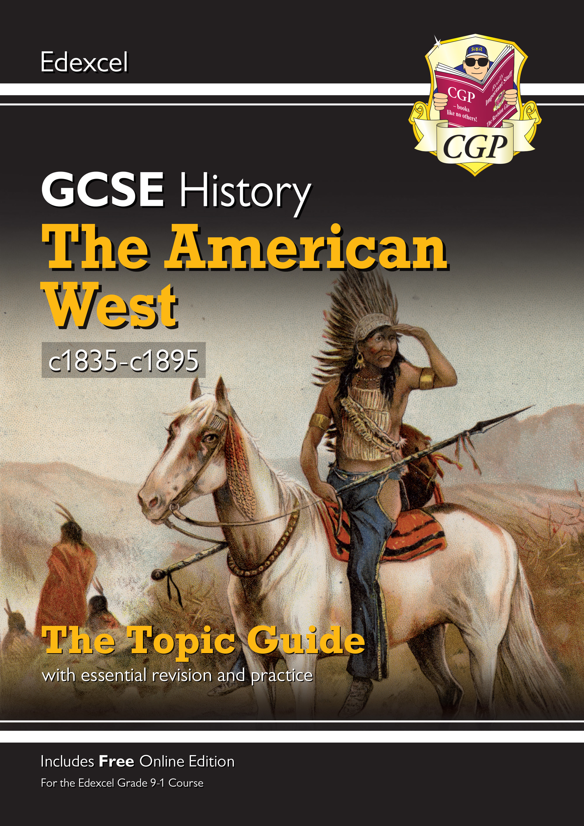 HEAWO41 - New Grade 9-1 GCSE History Edexcel Topic Guide - The American West, c1835-c1895