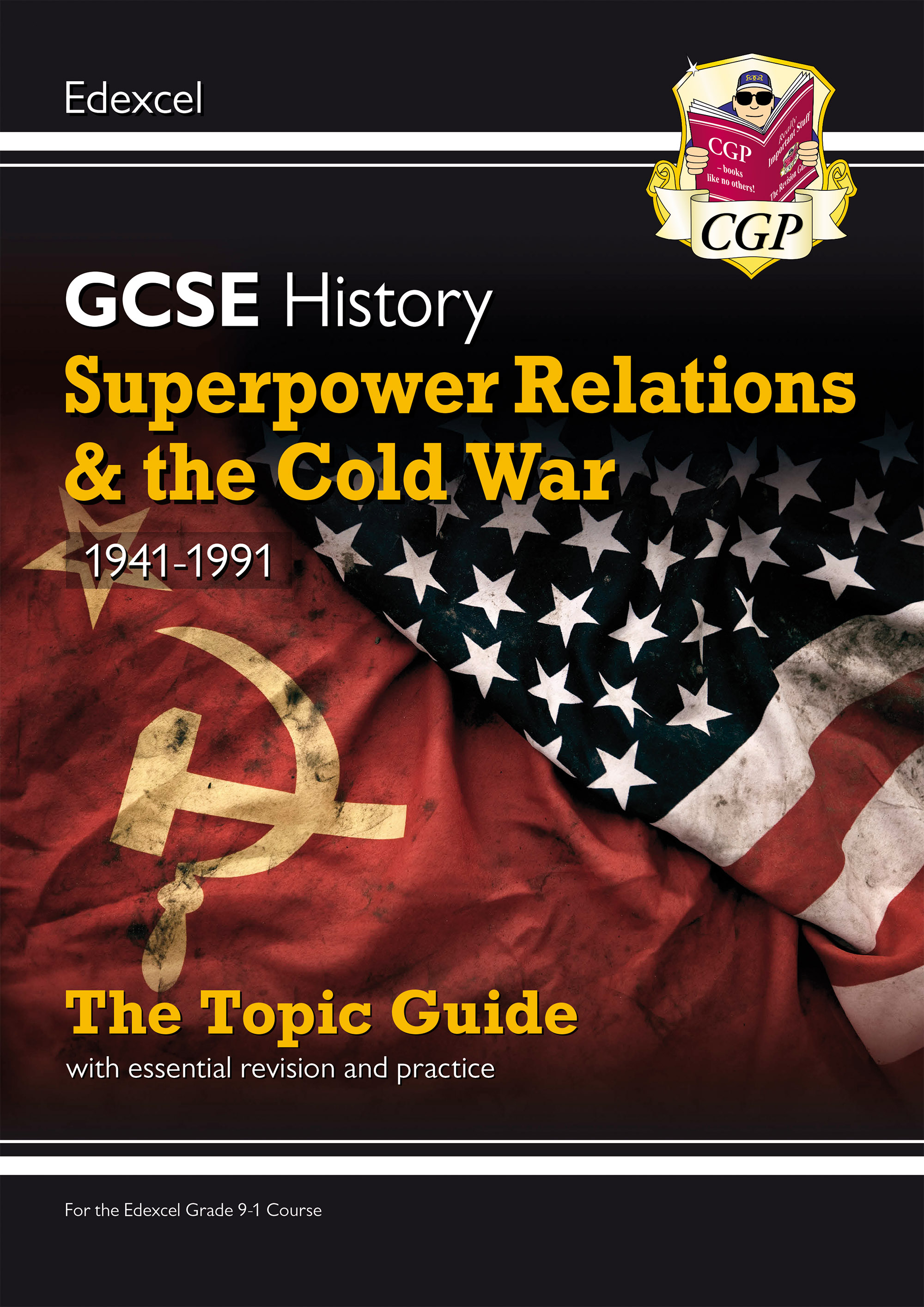 HECWO41DK - New Grade 9-1 GCSE History Edexcel Topic Guide - Superpower Relations and the Cold War,