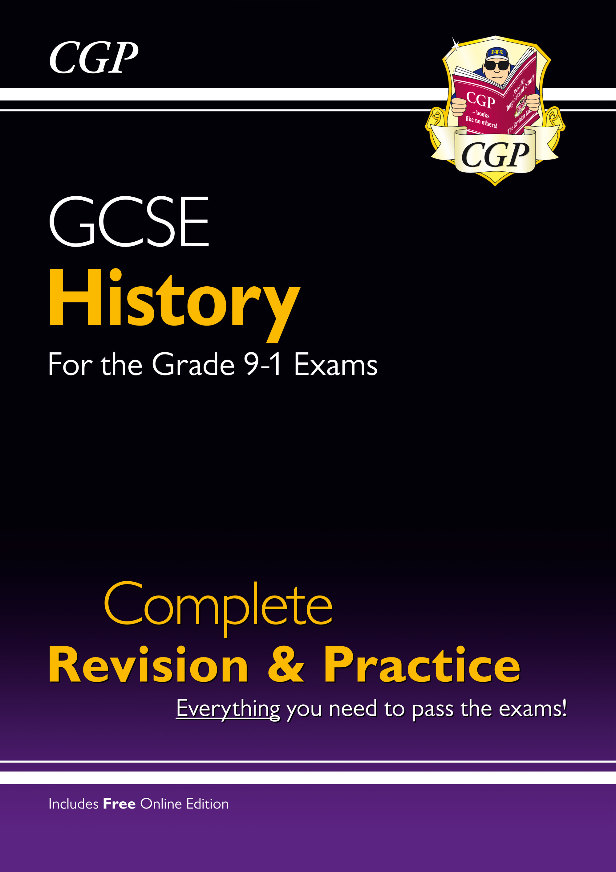 HHS45 - GCSE History Complete Revision & Practice - for the Grade 9-1 Course (with Online Edition)