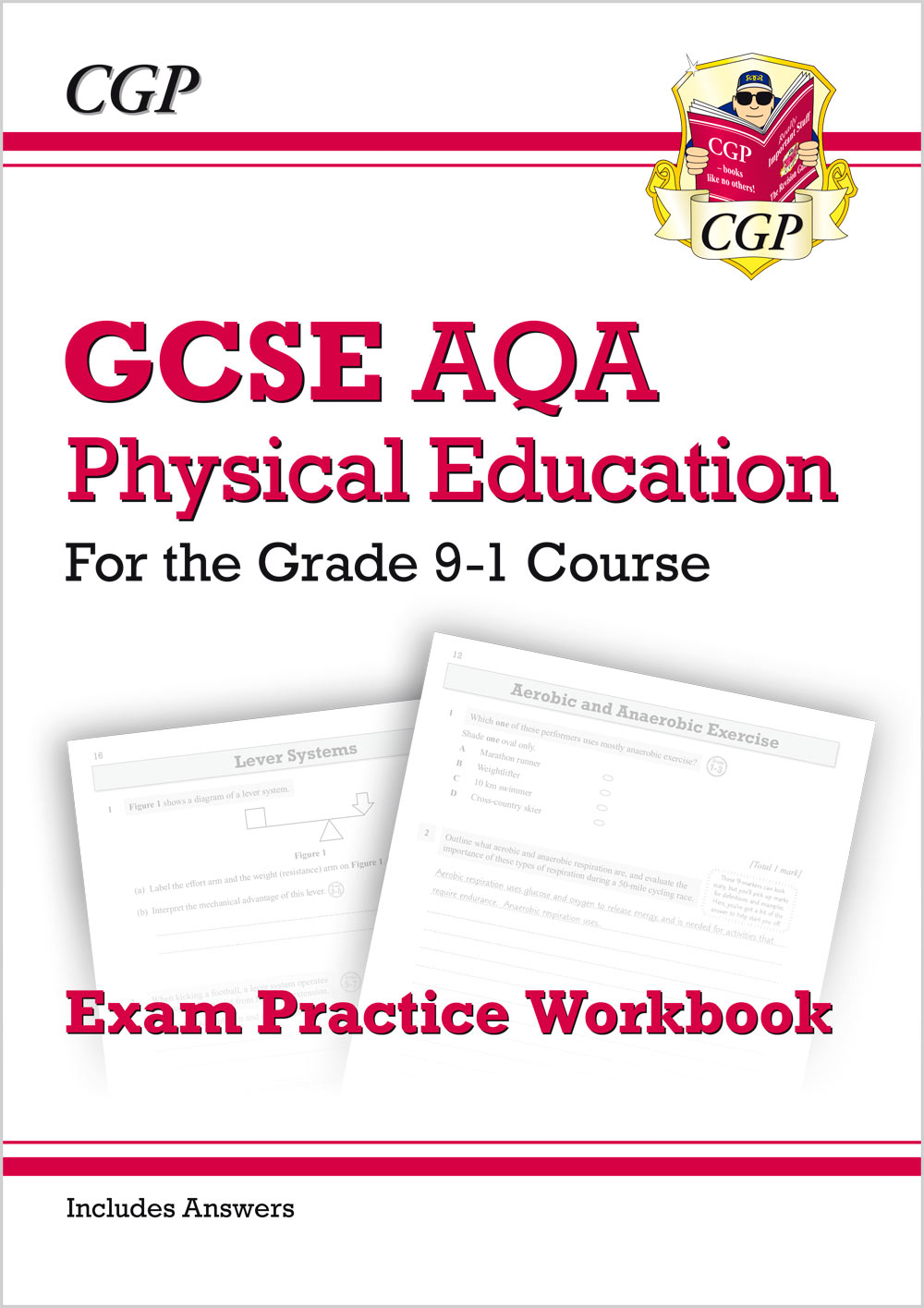 JAQ41 - New GCSE Physical Education AQA Exam Practice Workbook - for the Grade 9-1 Course (incl Answ