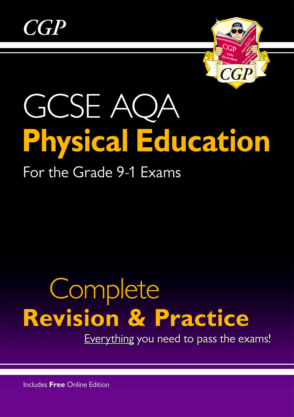 JAS41 - New Grade 9-1 GCSE Physical Education AQA Complete Revision & Practice (with Online Edition)