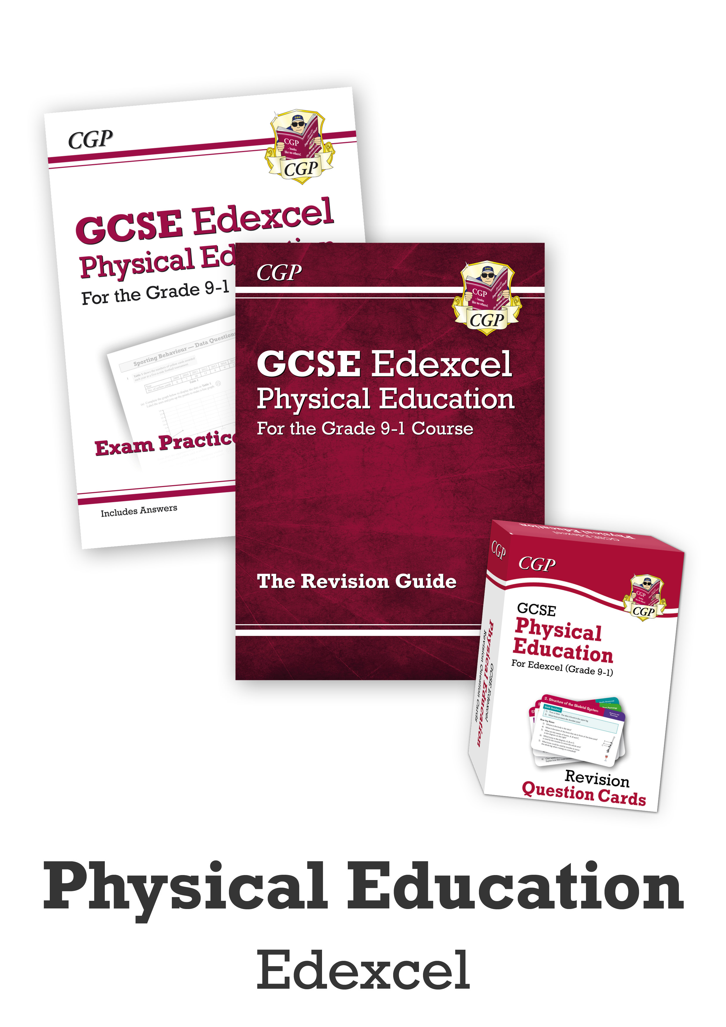 JECUB41 - GCSE Catch-Up Revision Essentials Bundle: Edexcel Physical Education
