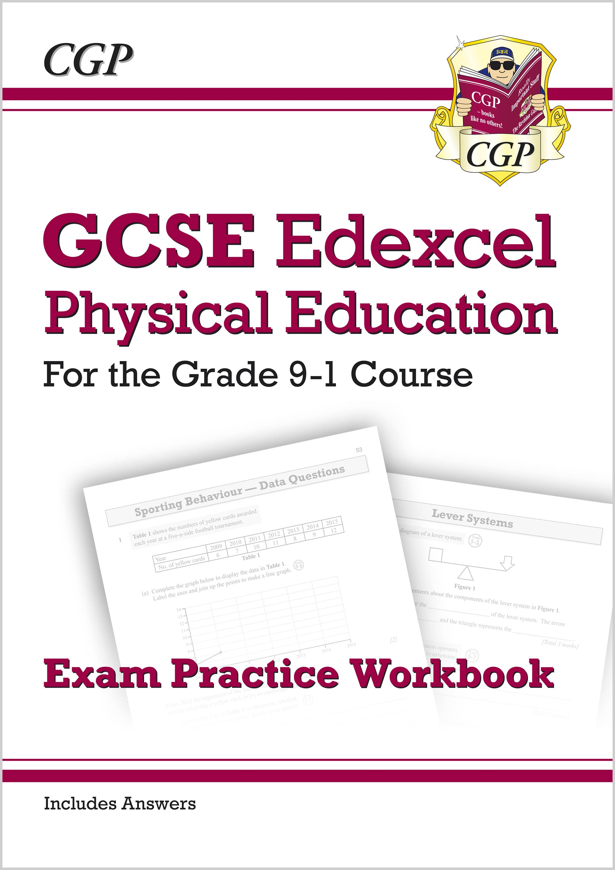 JEQ41 - GCSE Physical Education Edexcel Exam Practice Workbook - for the Grade 9-1 Course (incl Answ