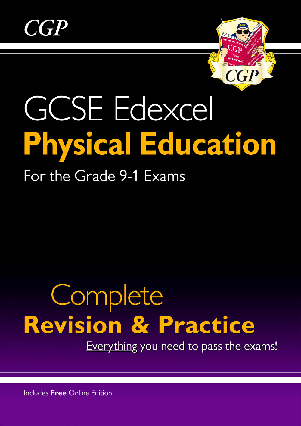 JES41 - New Grade 9-1 GCSE Physical Education Edexcel Complete Revision & Practice (with Online Edit
