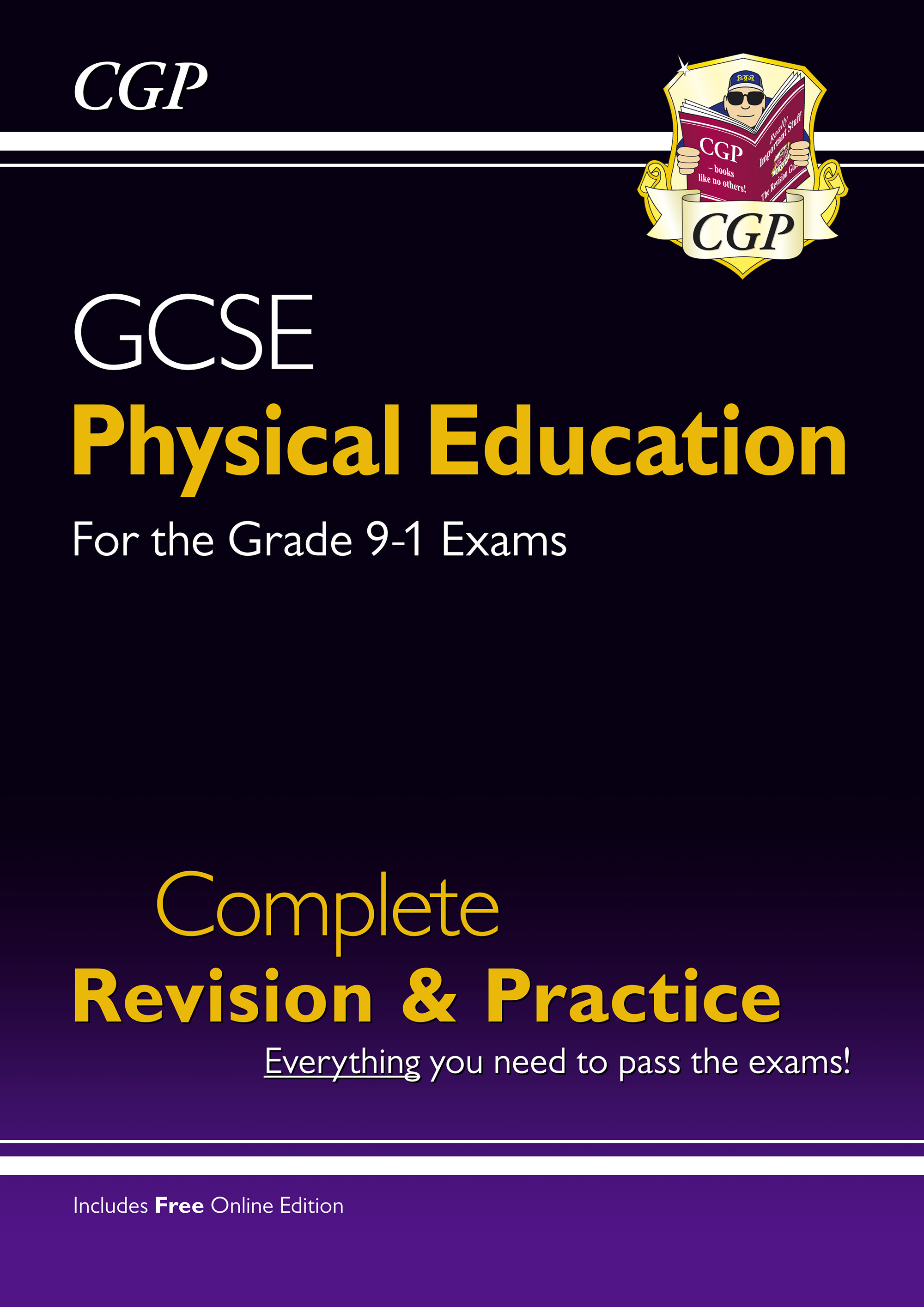 JHS44 - New GCSE Physical Education Complete Revision & Practice - for the Grade 9-1 Course (with On