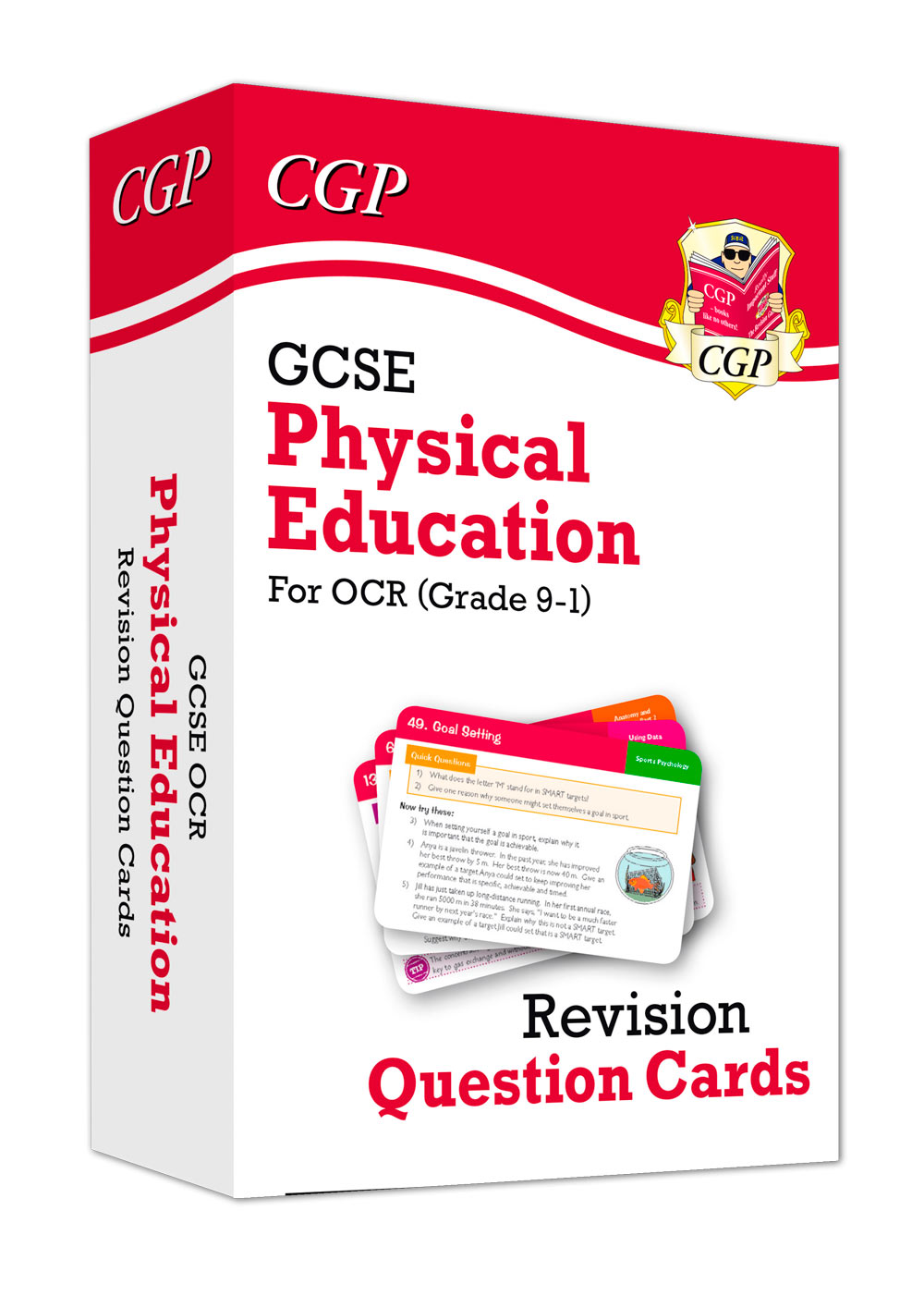 JRF41 - New Grade 9-1 GCSE Physical Education OCR Revision Question Cards
