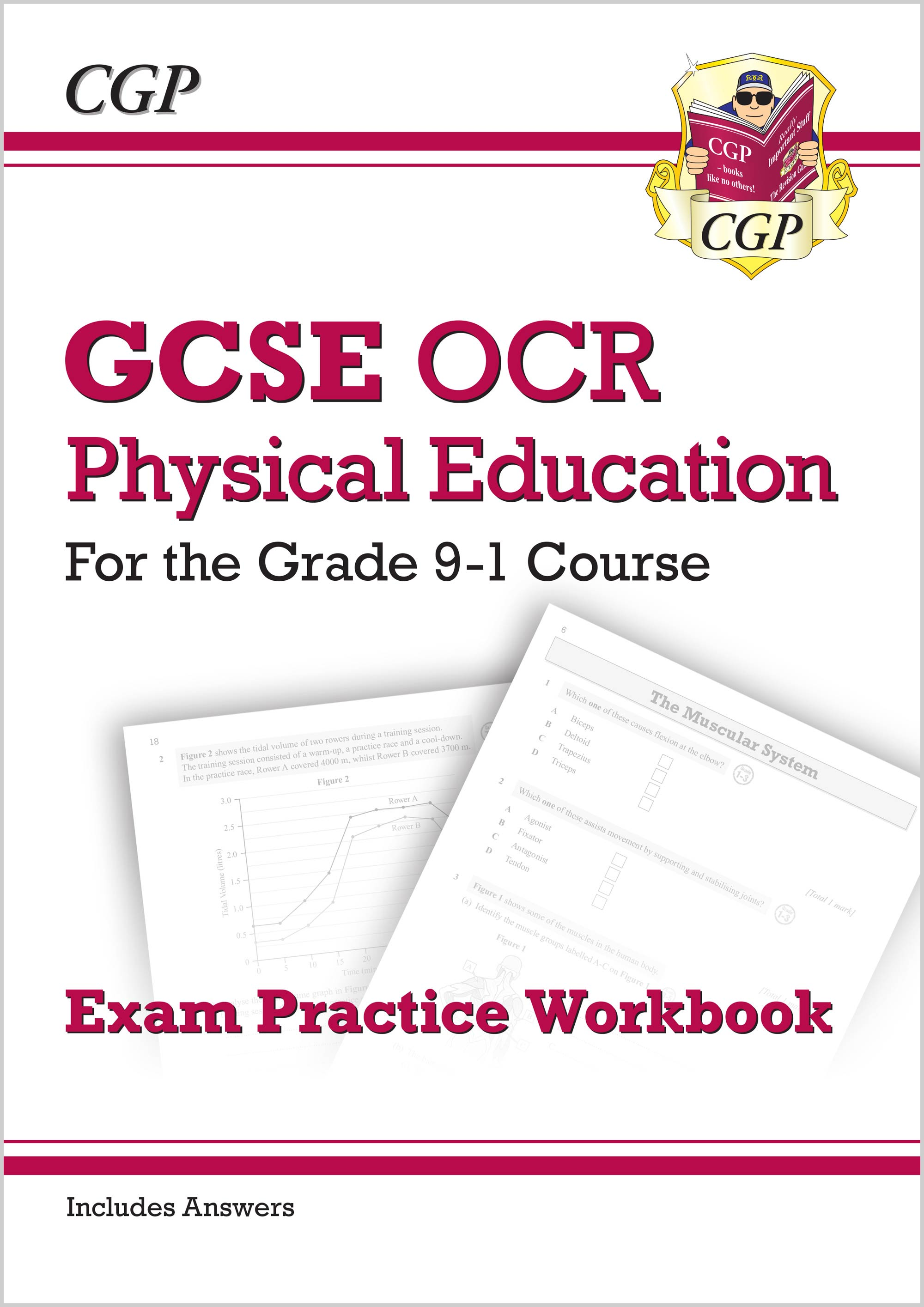 JRQ41 - New GCSE Physical Education OCR Exam Practice Workbook - for the Grade 9-1 Course (includes