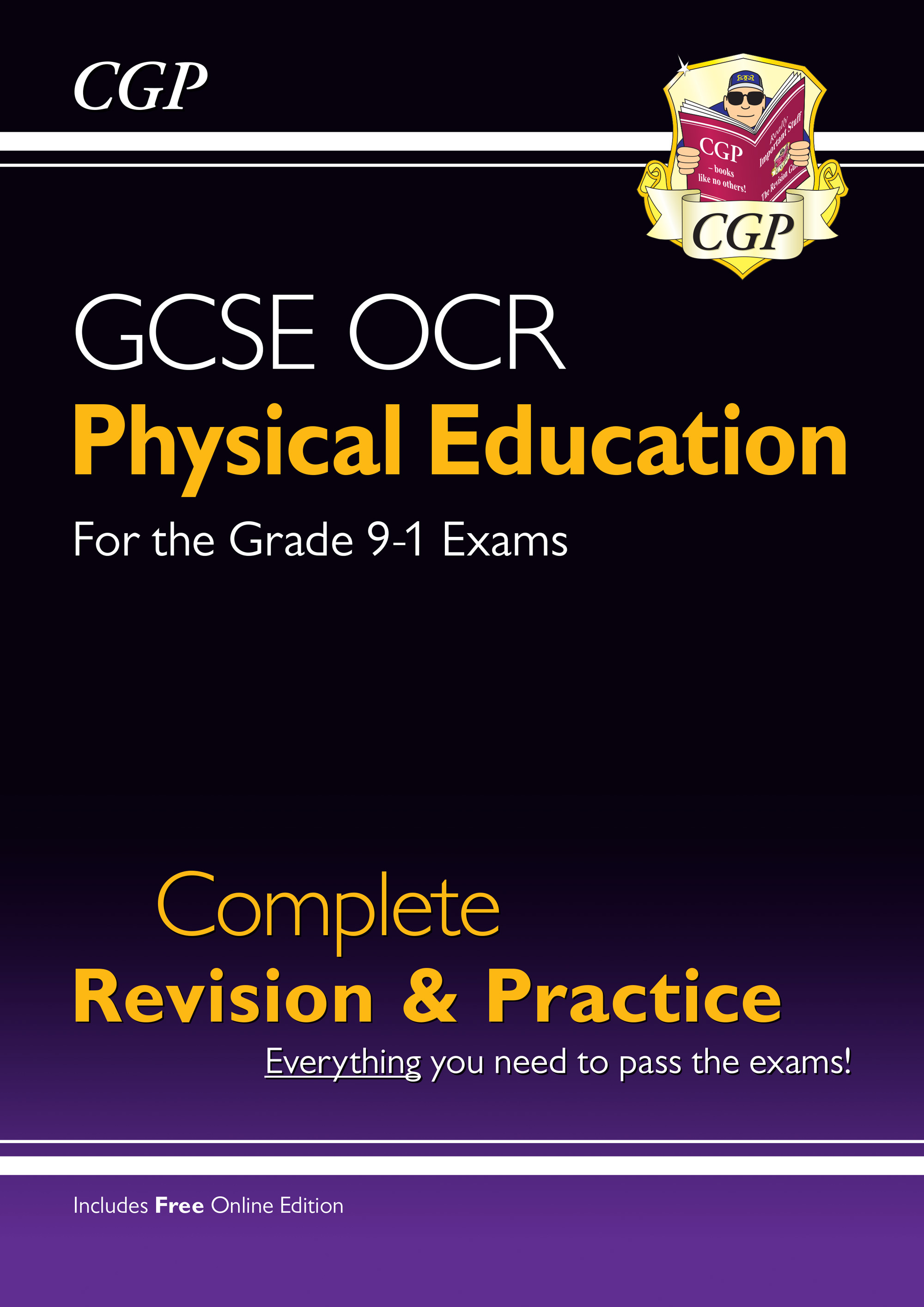 JRS41 - New Grade 9-1 GCSE Physical Education OCR Complete Revision & Practice (with Online Edition)