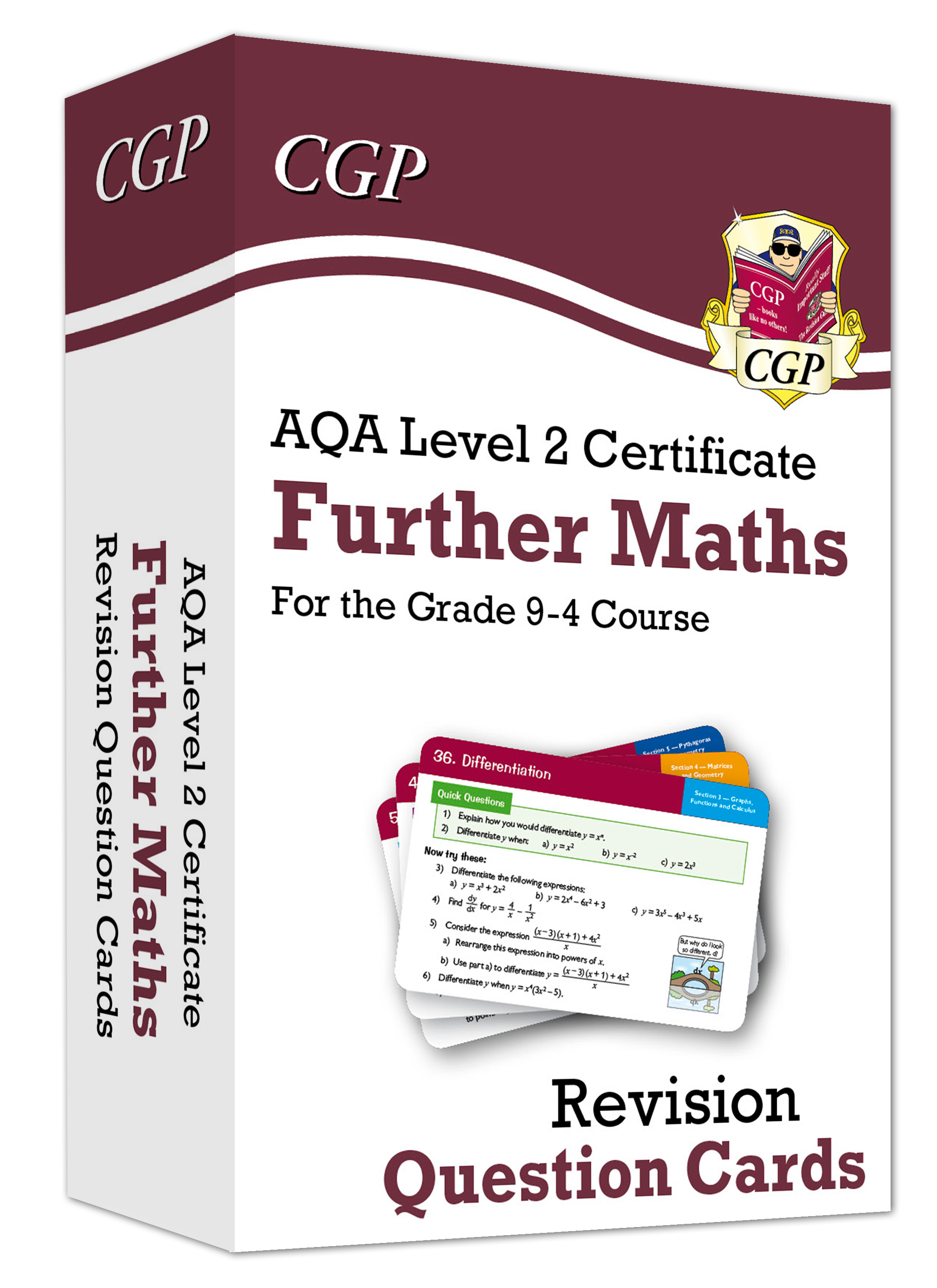 MAFI41 - New AQA Level 2 Certificate: Further Maths - Revision Question Cards