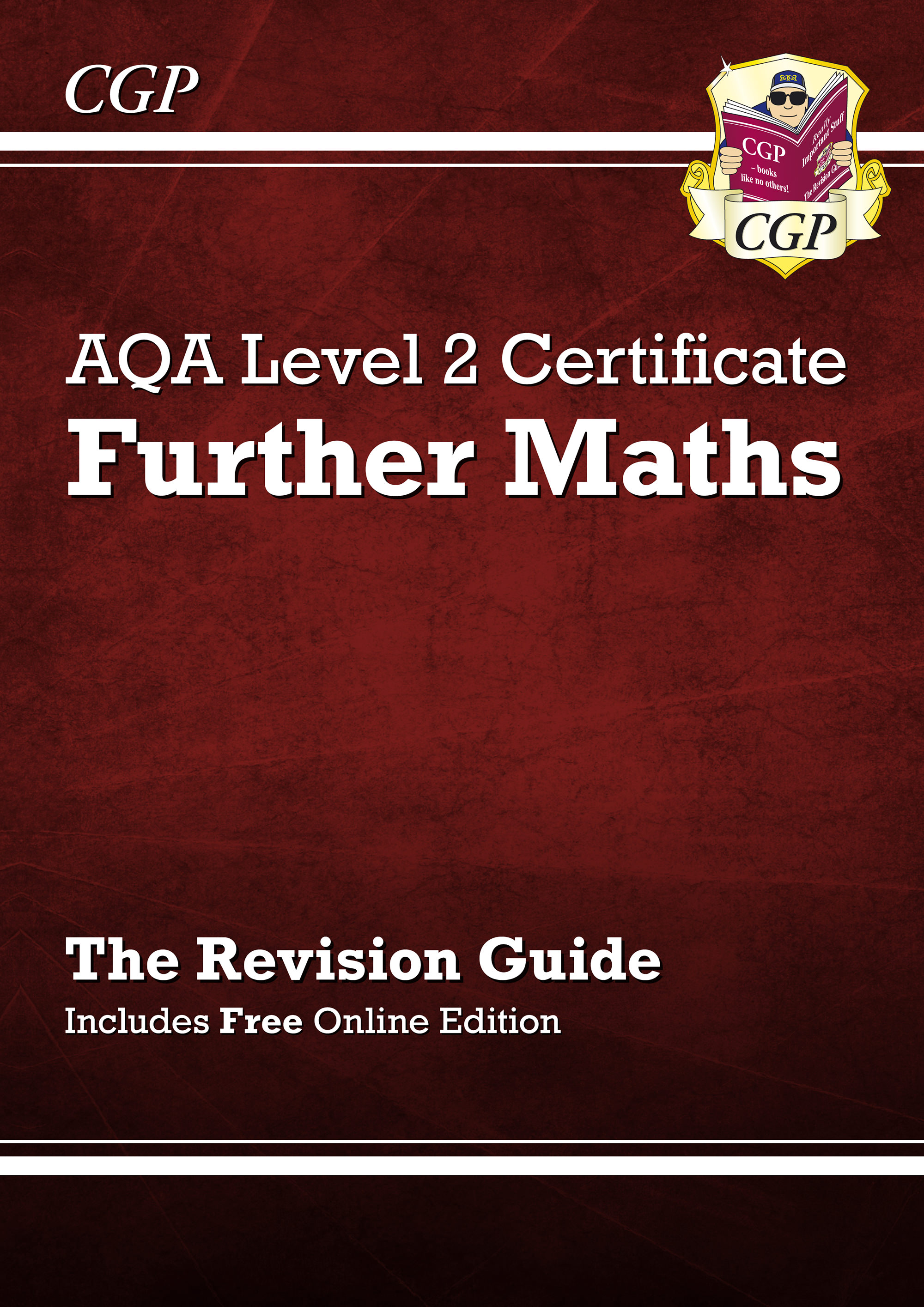 MARI41 - AQA Level 2 Certificate in Further Maths - Revision Guide (with online edition) (A^-C cours