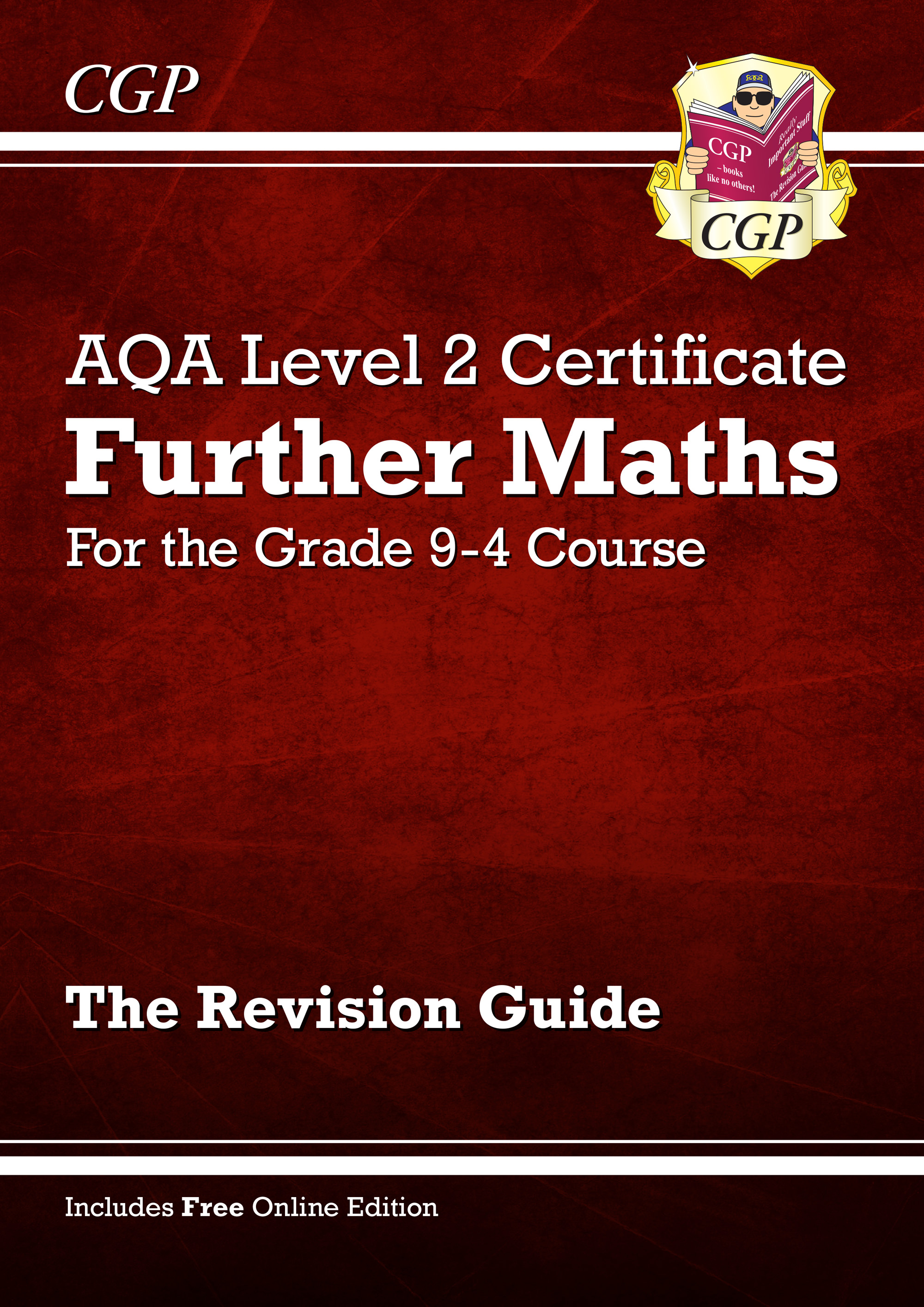 MARI42 - New Grade 9-4 AQA Level 2 Certificate: Further Maths - Revision Guide (with Online Edition)