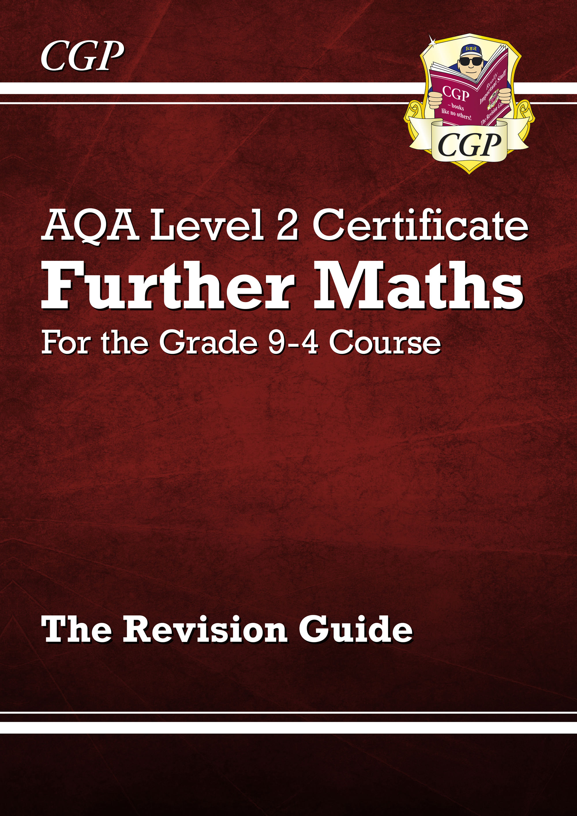 MARI42DK - New Grade 9-4 AQA Level 2 Certificate: Further Maths - Revision Guide (with Online Editio