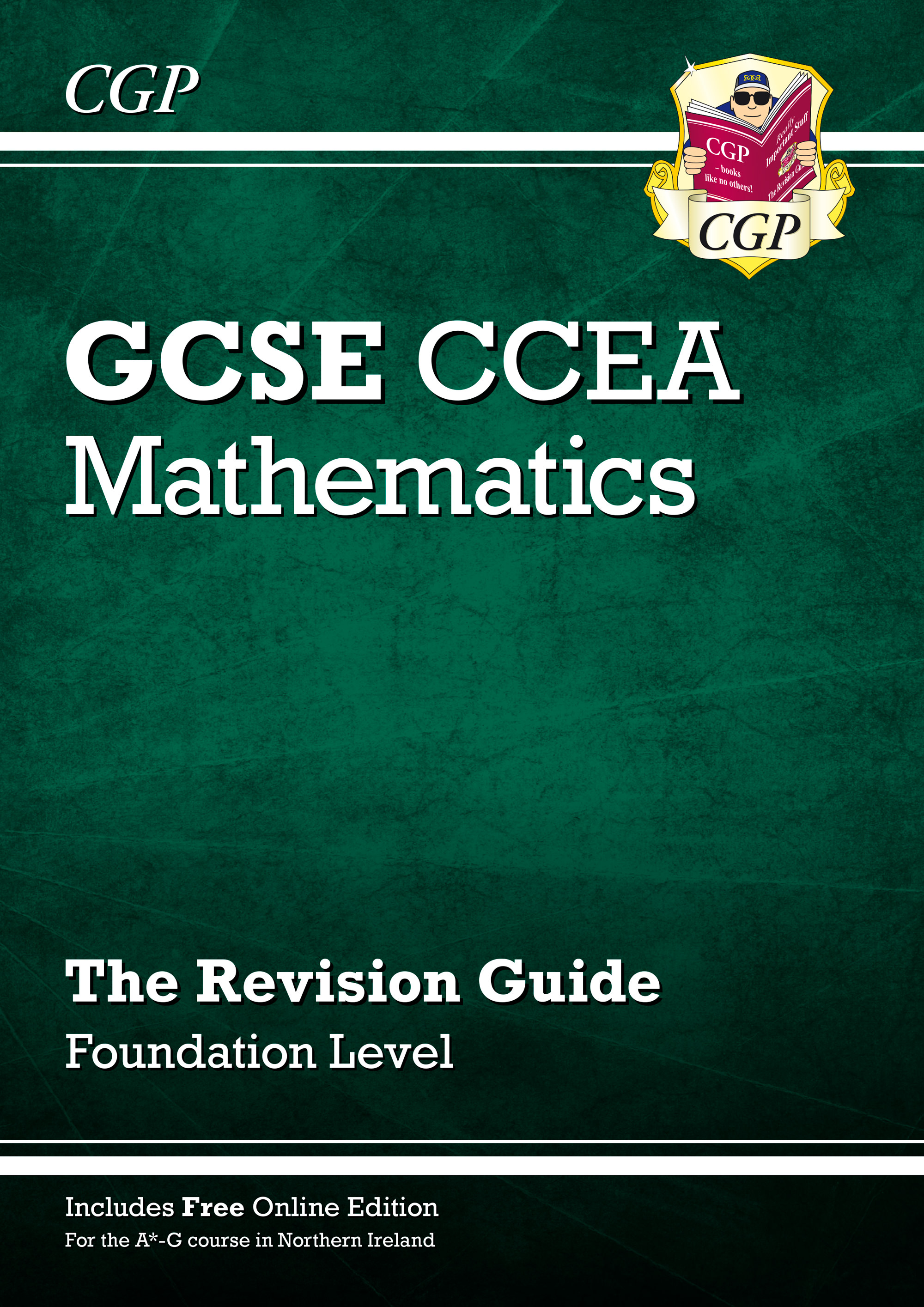 MCCFR41 - New CCEA GCSE Maths Revision Guide: Foundation (with Online Edition)