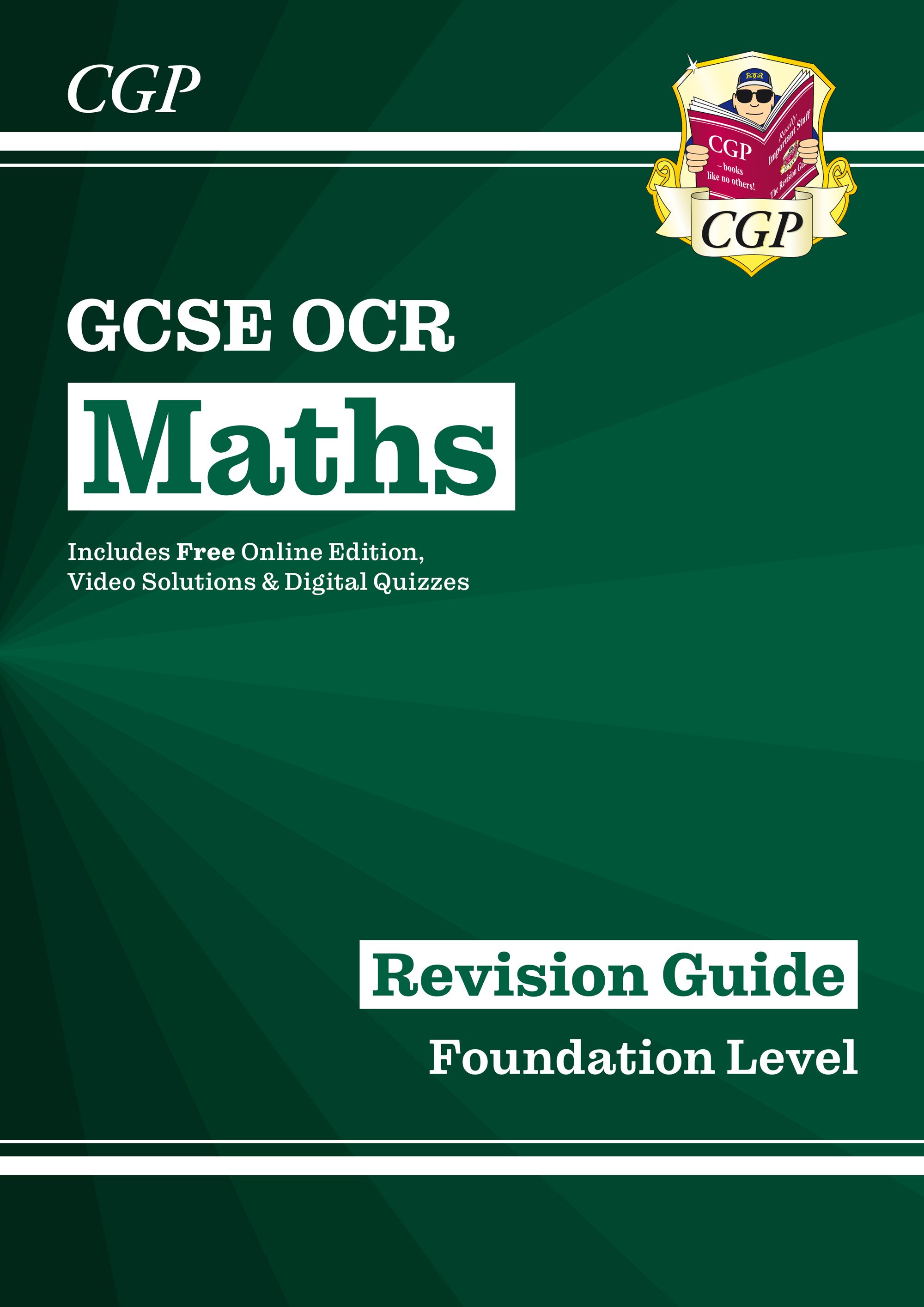 MCFR47 - New 2021 GCSE Maths OCR Revision Guide: Foundation inc Online Edition, Videos & Quizzes