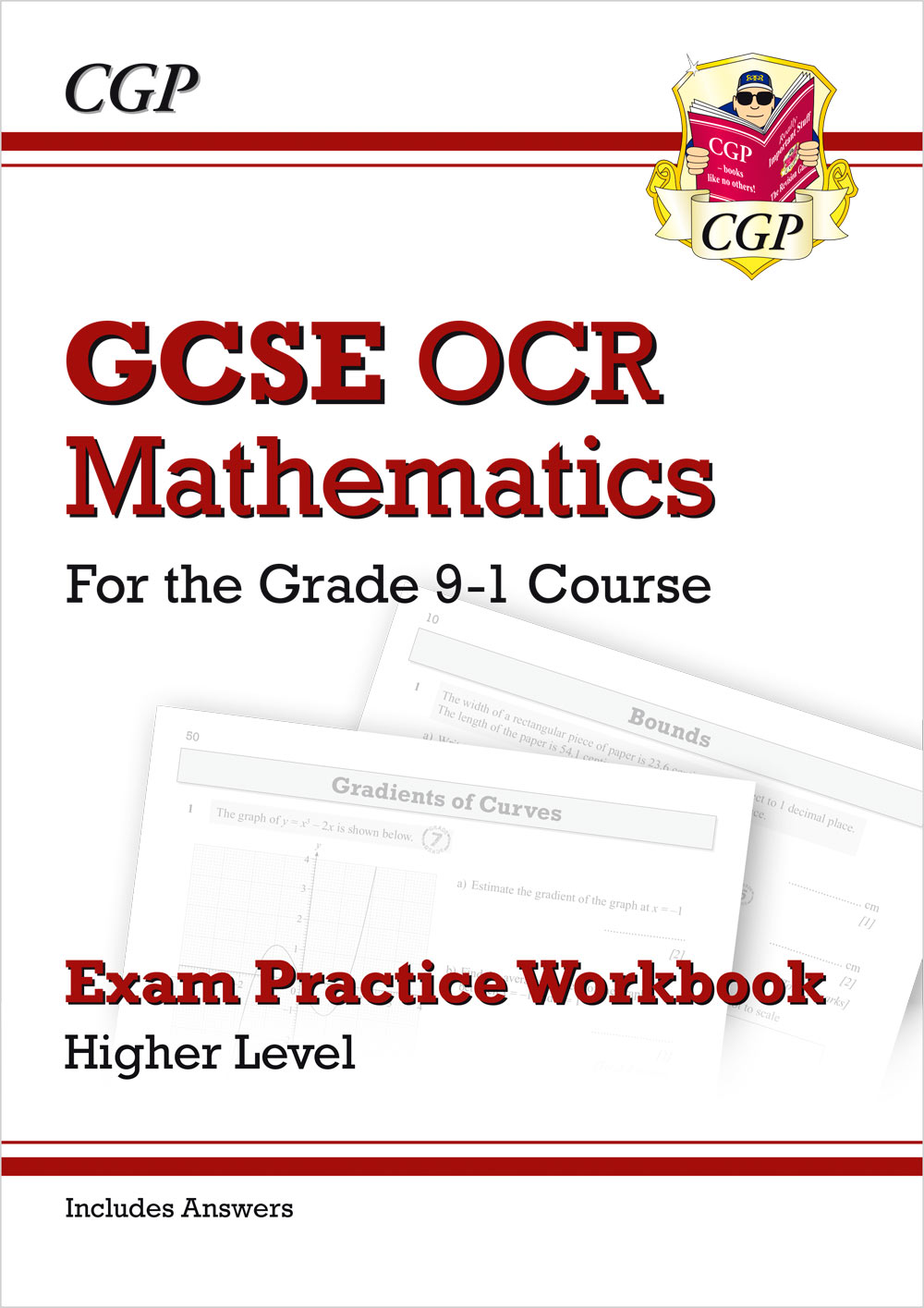 MCHQ42 - GCSE Maths OCR Exam Practice Workbook: Higher - for the Grade 9-1 Course (includes Answers)