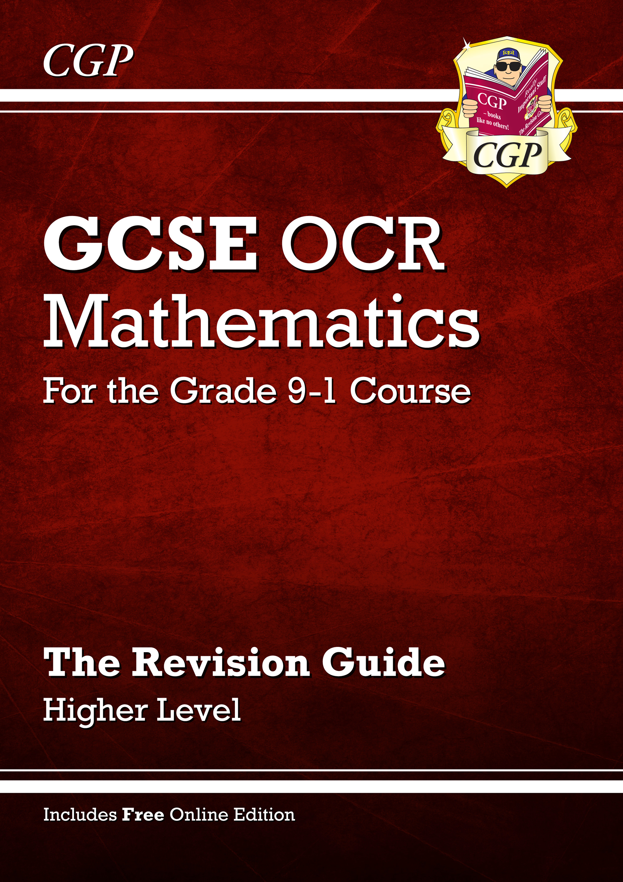 MCHR46 - GCSE Maths OCR Revision Guide: Higher - for the Grade 9-1 Course (with Online Edition)