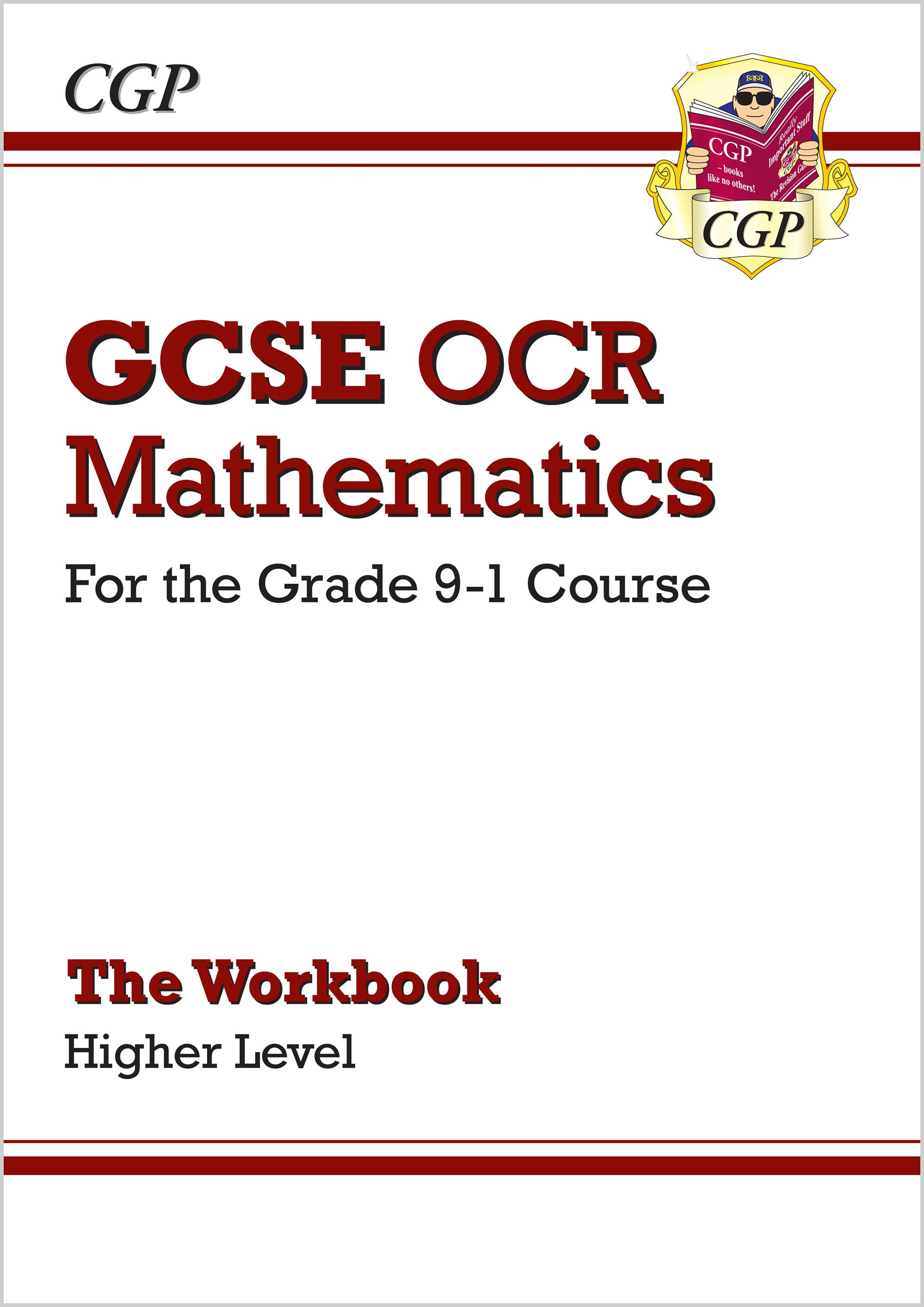 MCHW46 - GCSE Maths OCR Workbook: Higher - for the Grade 9-1 Course