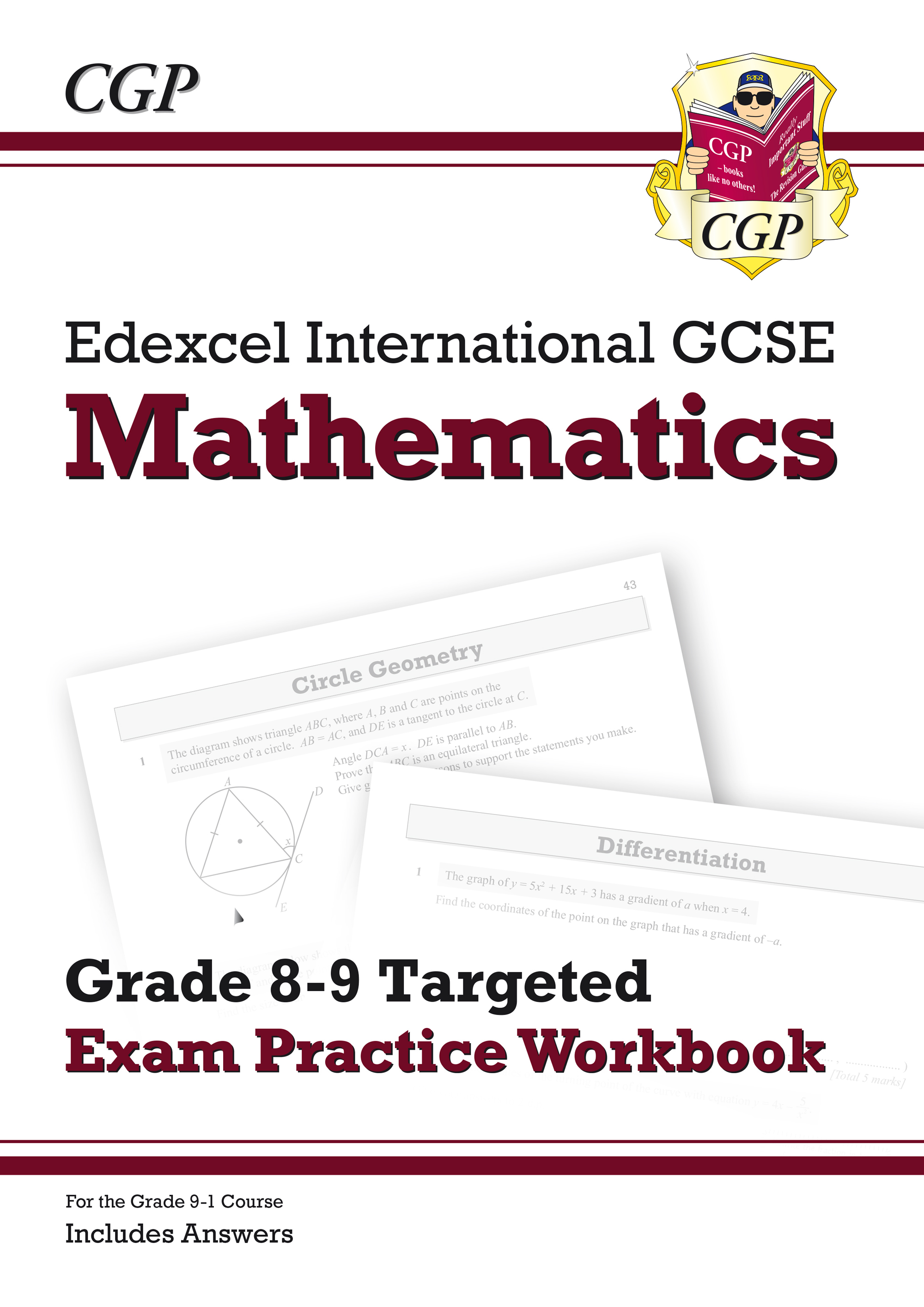 ME9QI41 - Edexcel International GCSE Maths Grade 8-9 Targeted Exam Practice Workbook (includes Answe