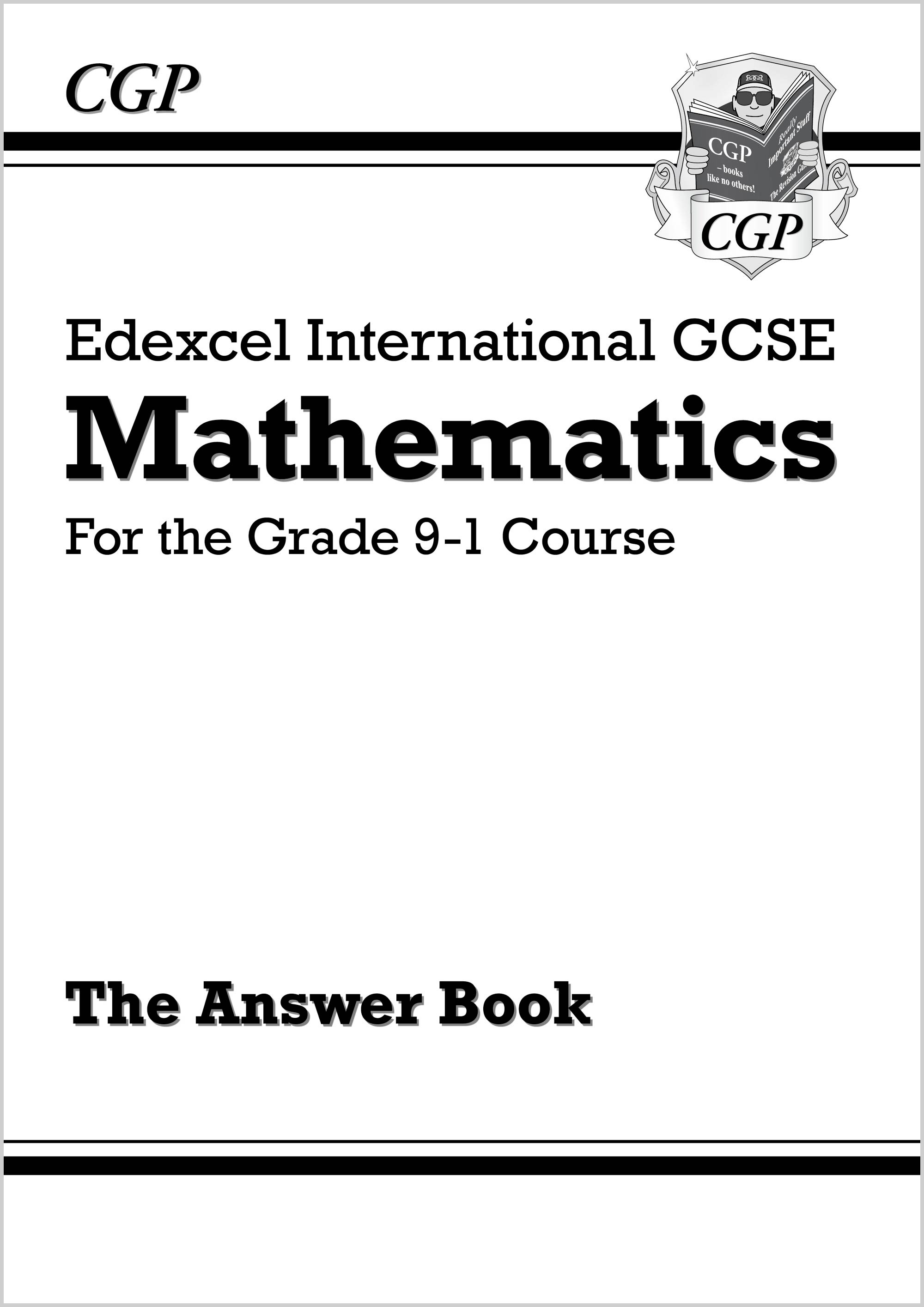 MEAI43 - Edexcel International GCSE Maths Answers for Workbook - for the Grade 9-1 Course