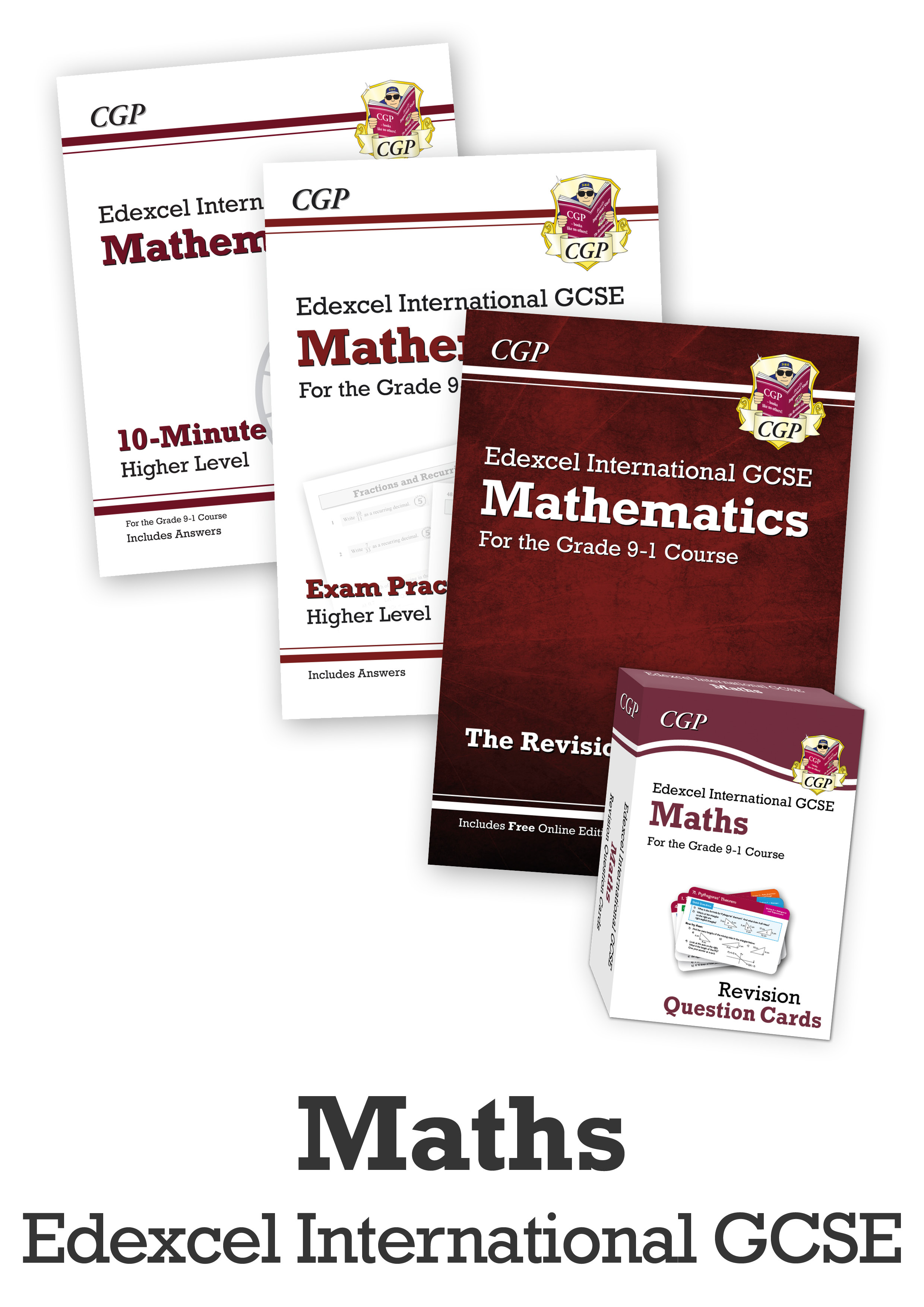 MECUBI41 - GCSE Home Learning Essentials Bundle: Edexcel International GCSE Maths
