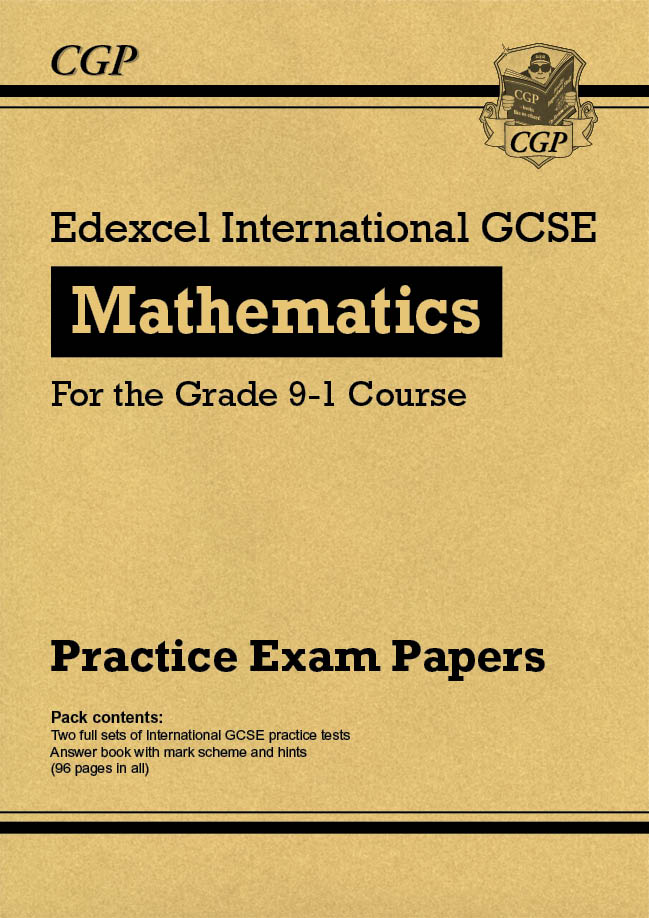 MEHPI41 - New Edexcel International GCSE Maths Practice Papers: Higher - for the Grade 9-1 Course