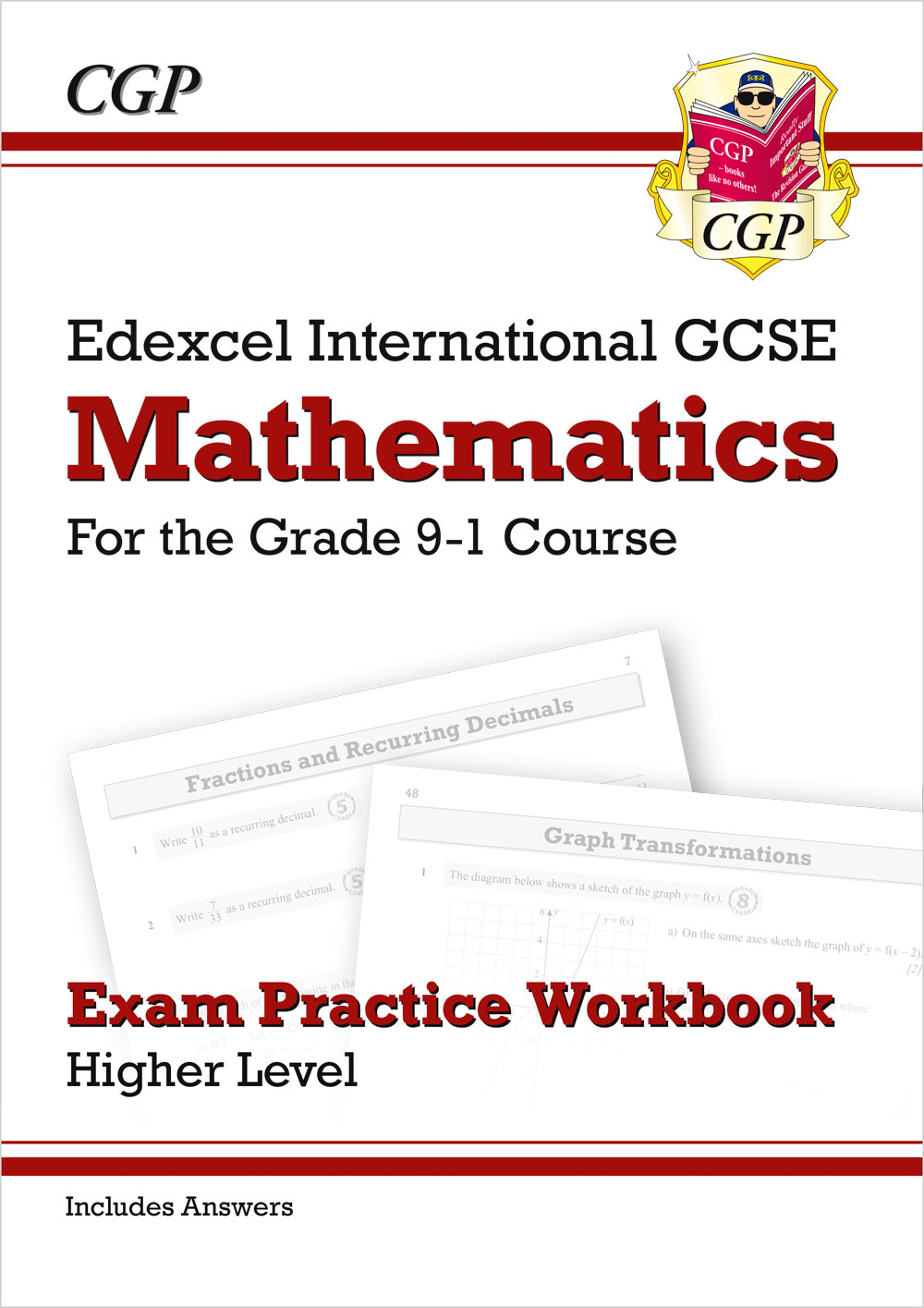 MEQI42 - Edexcel International GCSE Maths Exam Practice Workbook: Higher - Grade 9-1 (with Answers)